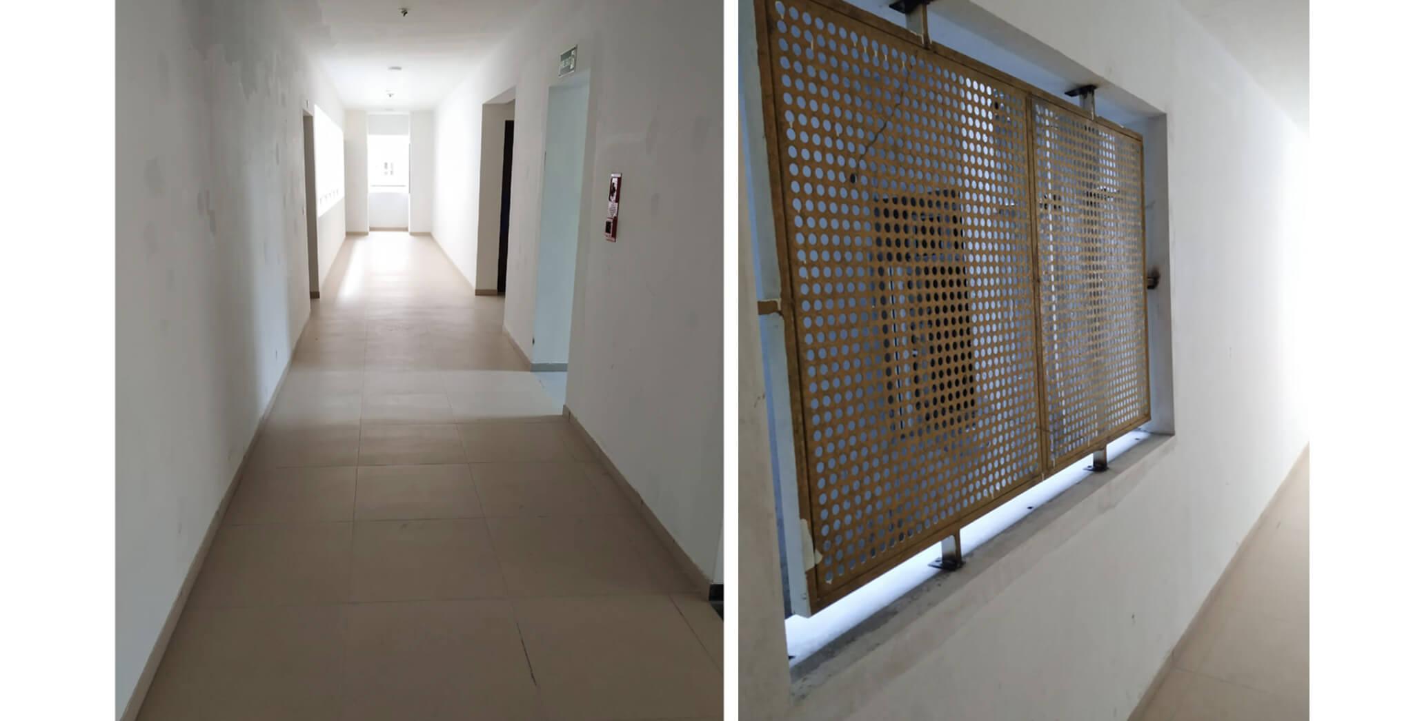 Nov 2019 - Deodar—F block: Corridor–Final coat of paint work-in-progress