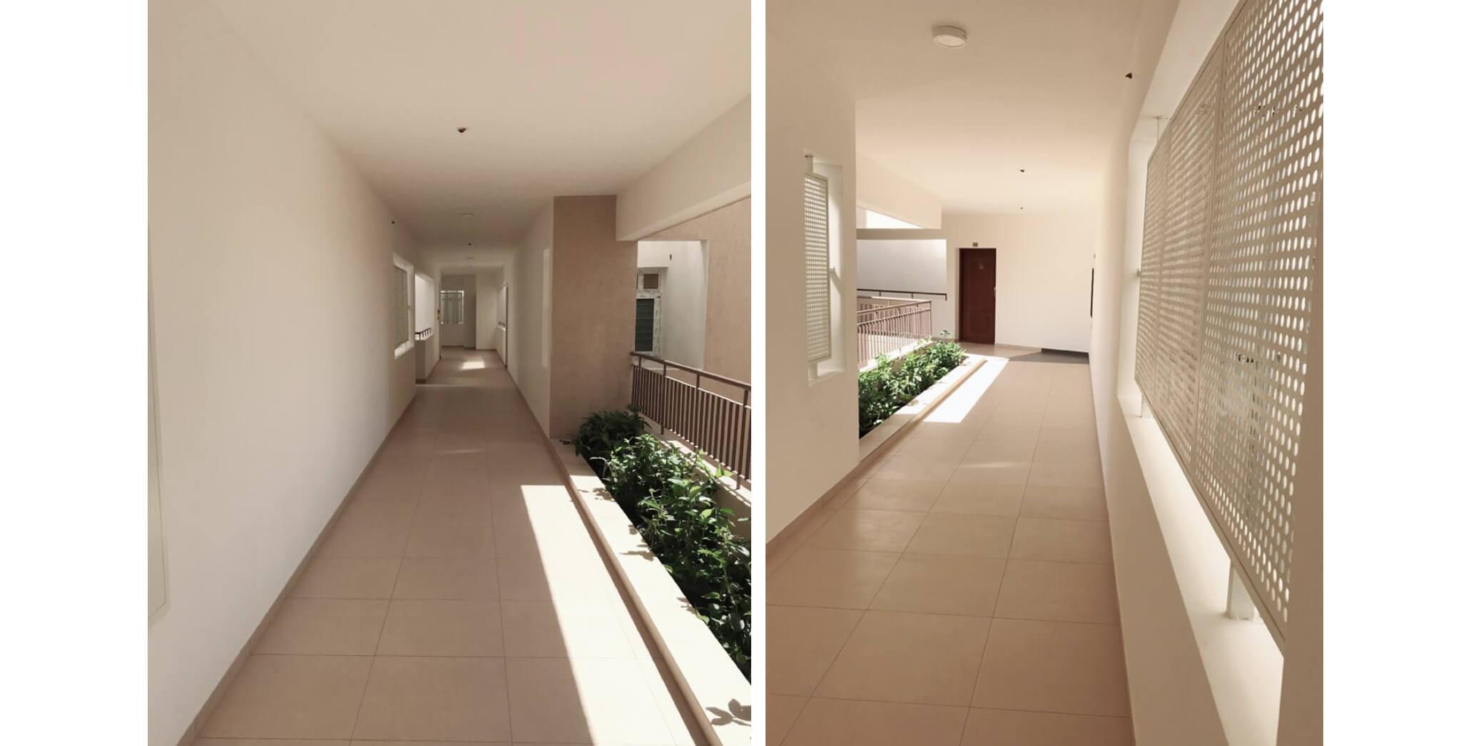 Nov 2019 - Deodar—G block: Corridor–Final coat, painting completed