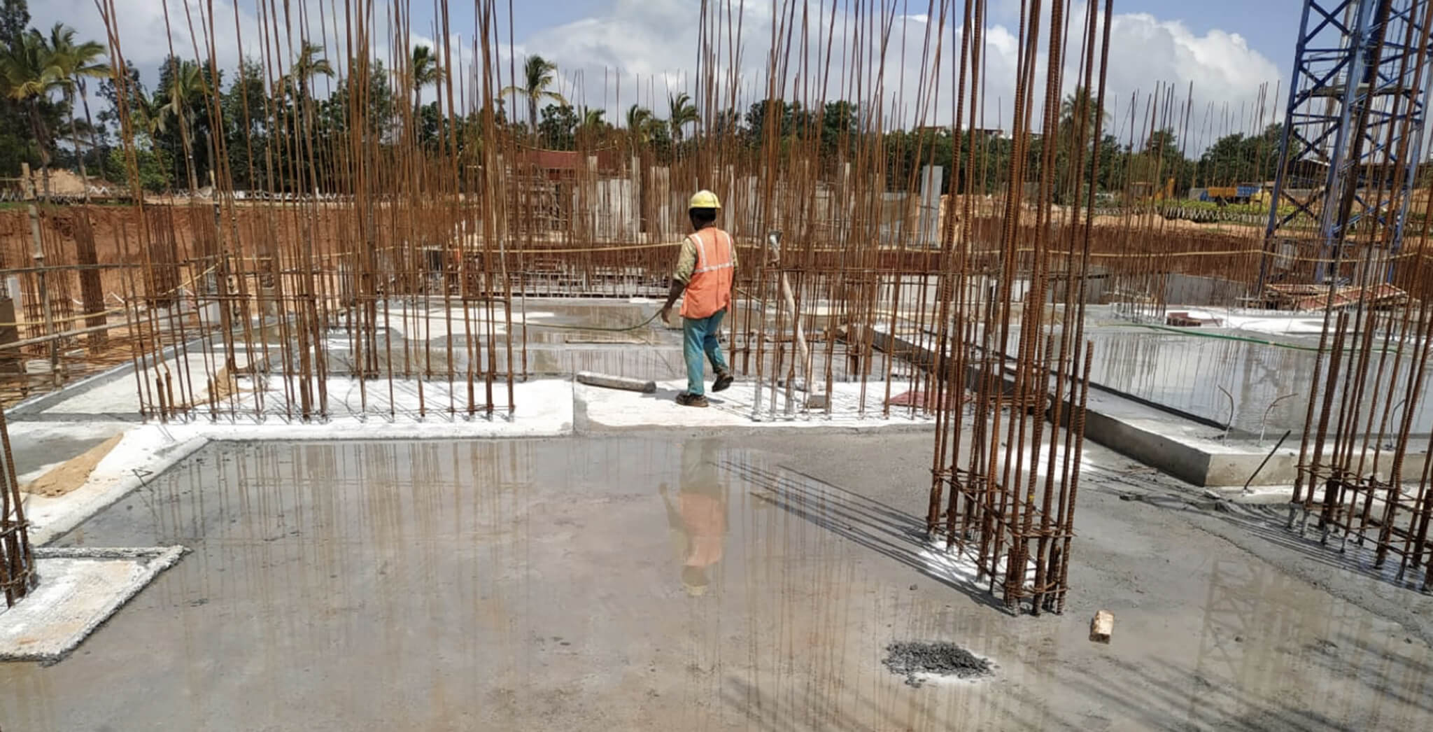 Nov 2019 - Tower A: Basement slab work-in-progress