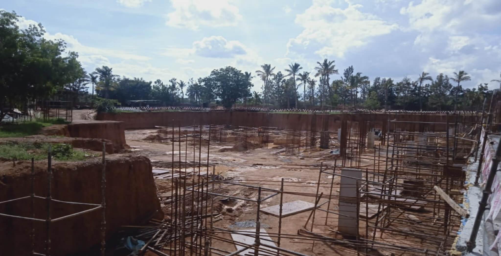 Nov 2019 - Tower B: Footings work-in-progress