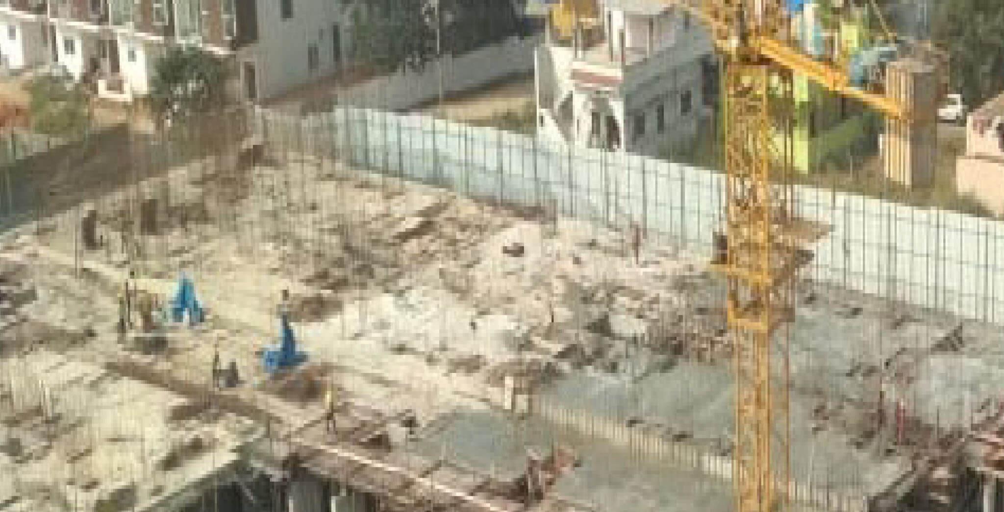 Jan 2020 - G Block: Ground floor slab completed