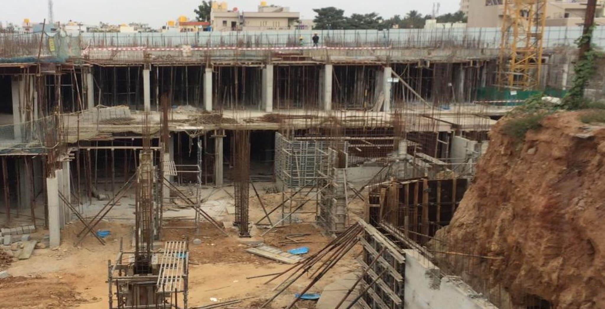 Jan 2020 - F & K Blocks: Basement work-in-progress