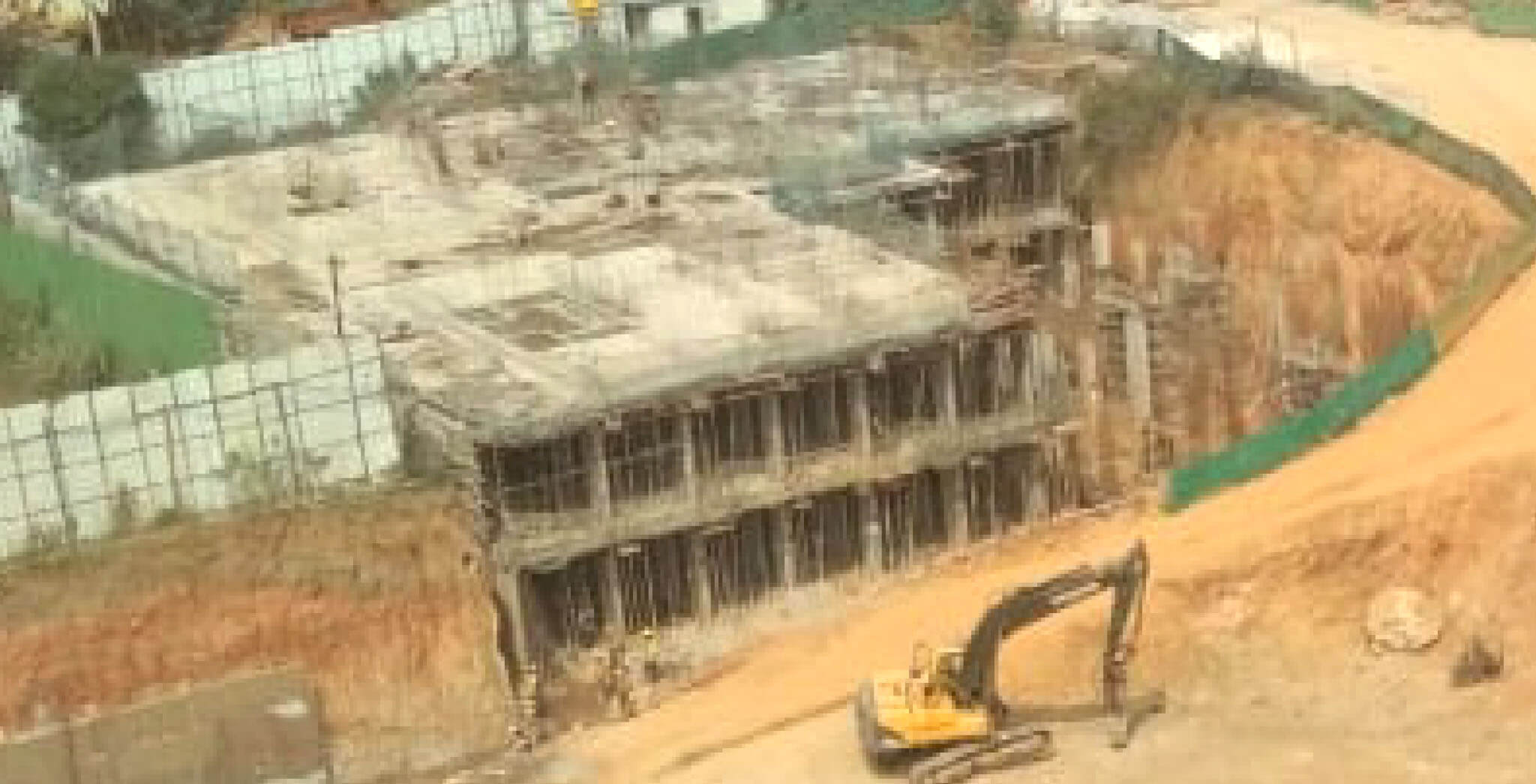 Jan 2020 - A & B Blocks: Ground floor work-in-progress