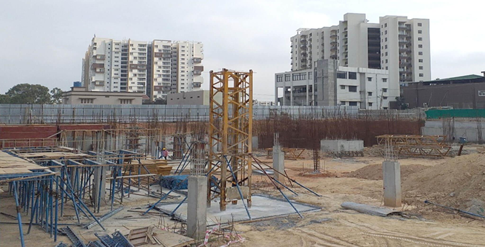Jan 2020 - A Block: GF Shuttering work-in-progress