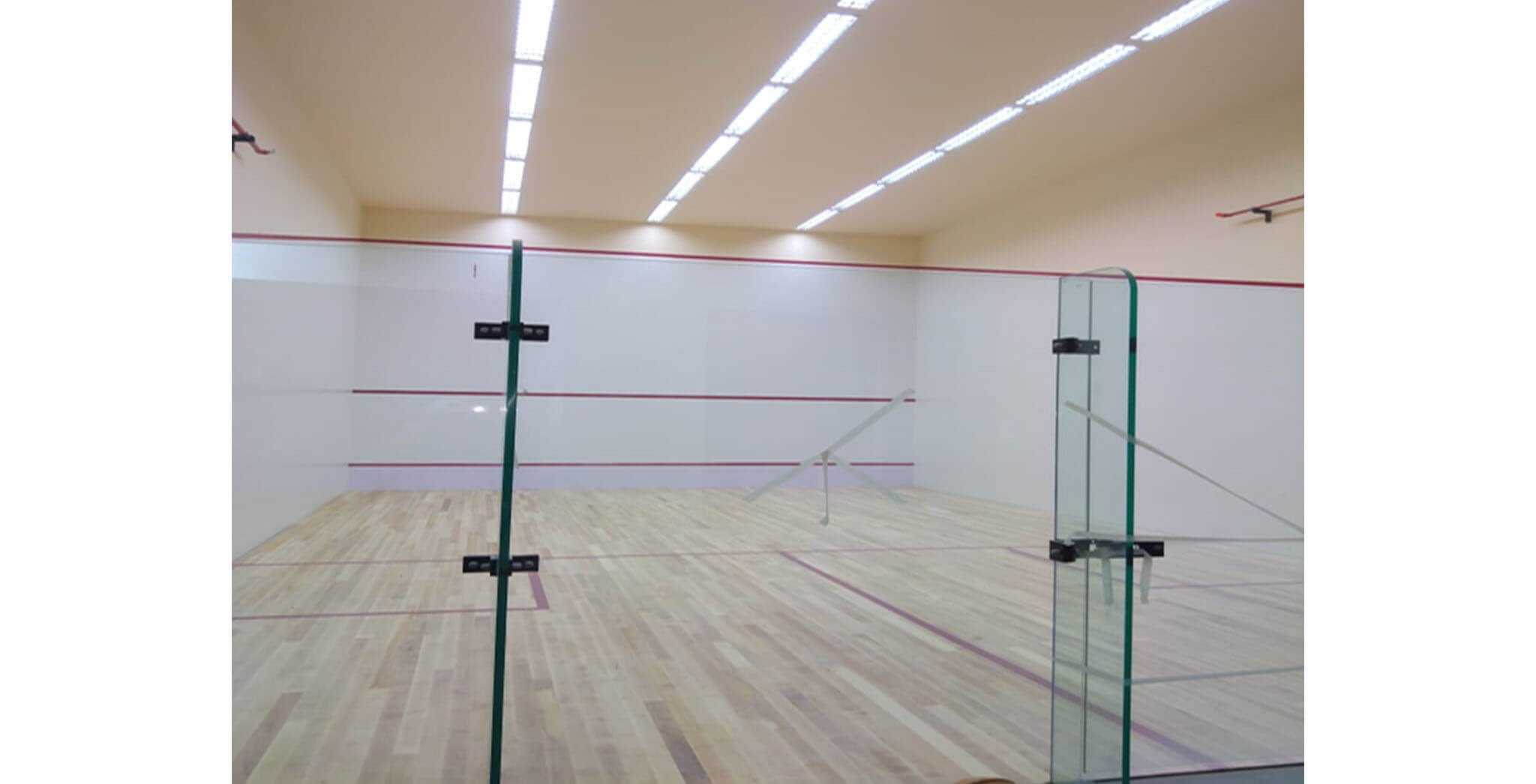 Jan 2020 - Squash Court at the Clubhouse