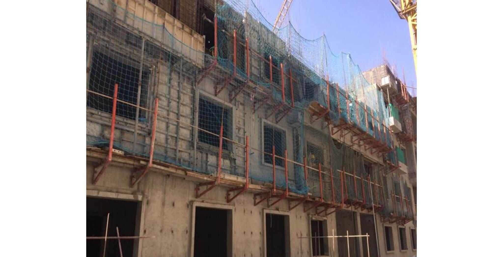 Jan 2020 - N Block: Third floor slab work-in-progress