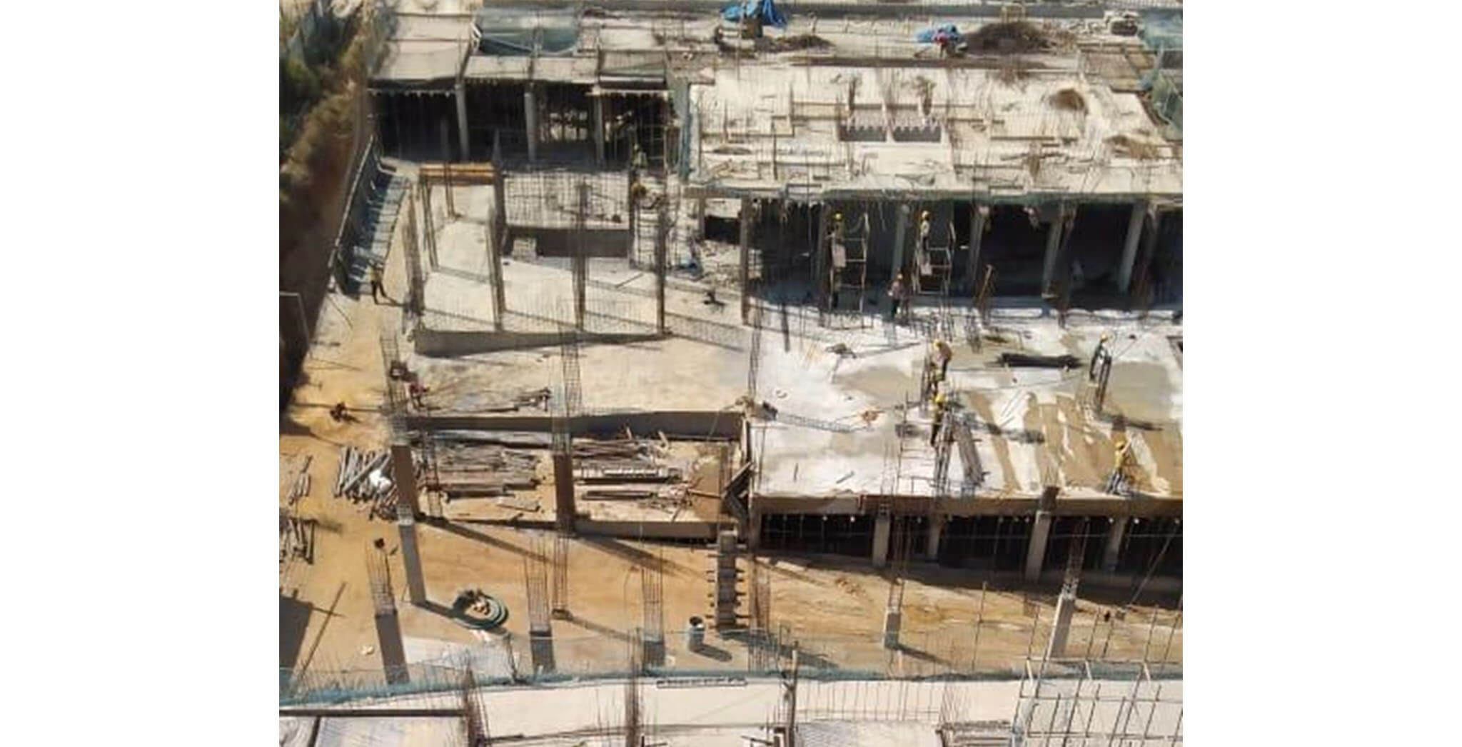 Jan 2020 - L Block: Ground floor slab work-in-progress