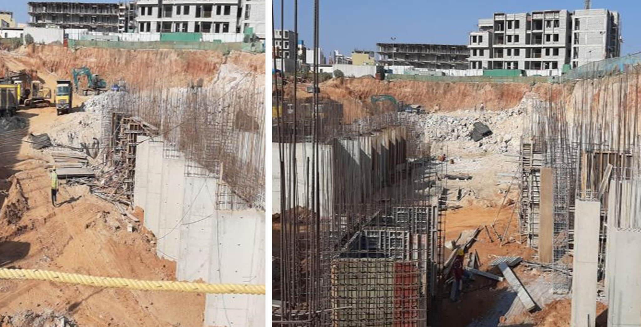 Jan 2020 - D&I Blocks: Basement work-in-progress