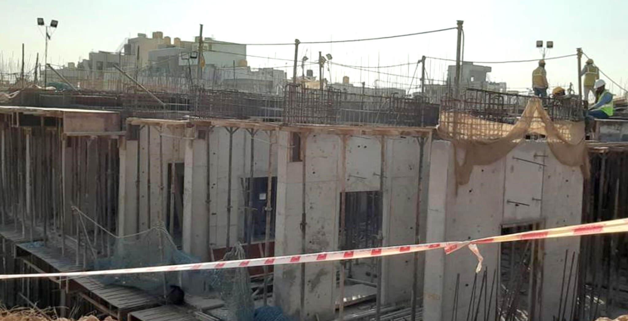 Jan 2020 - B Block: Ground floor work-in-progress