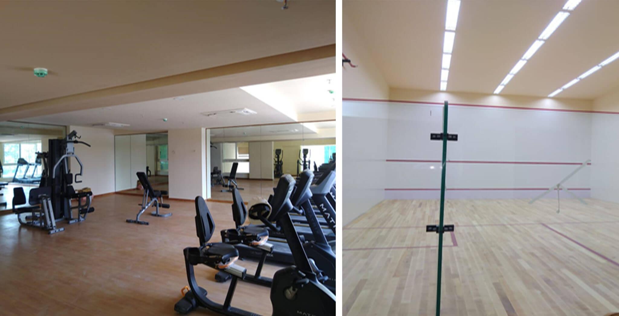 Feb 2020 - Squash Court and Gym