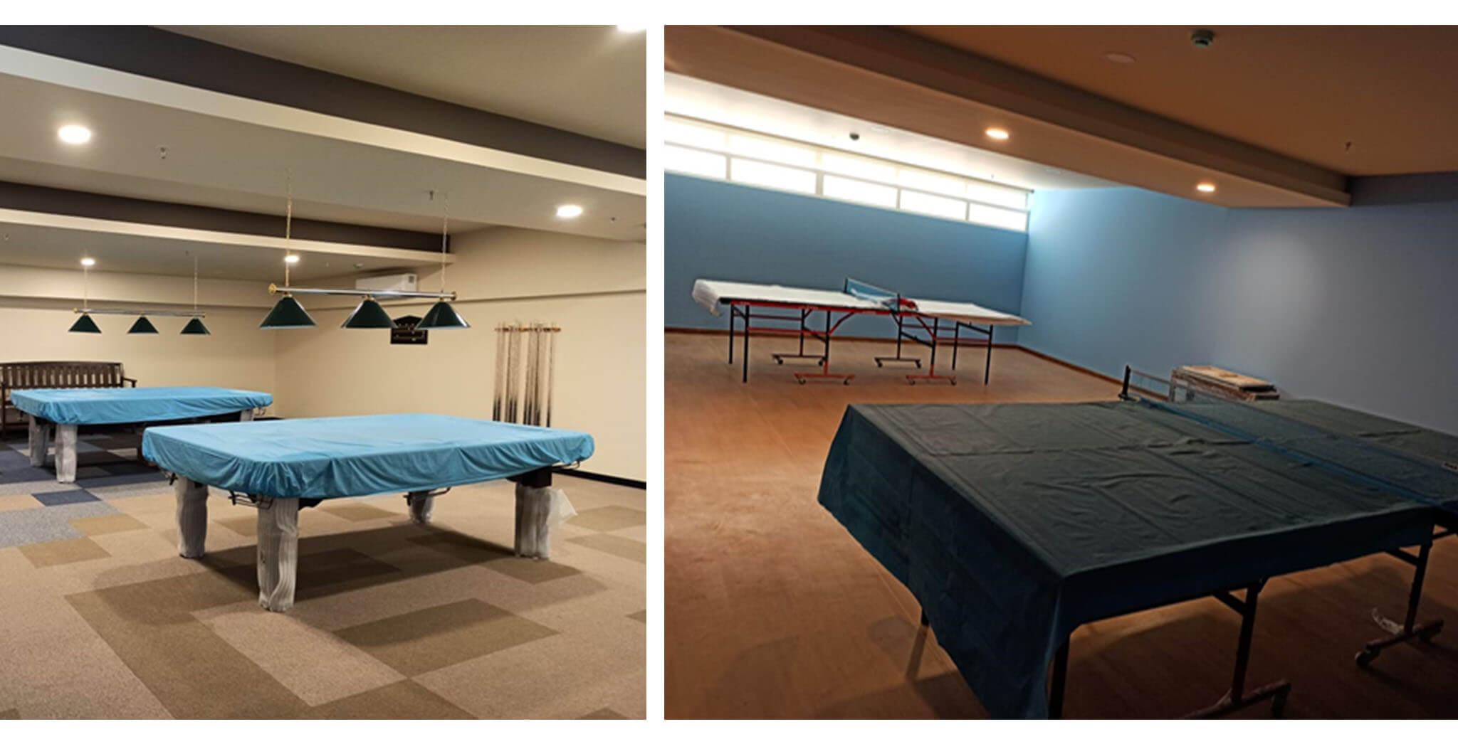Feb 2020 - Pool and Table Tennis