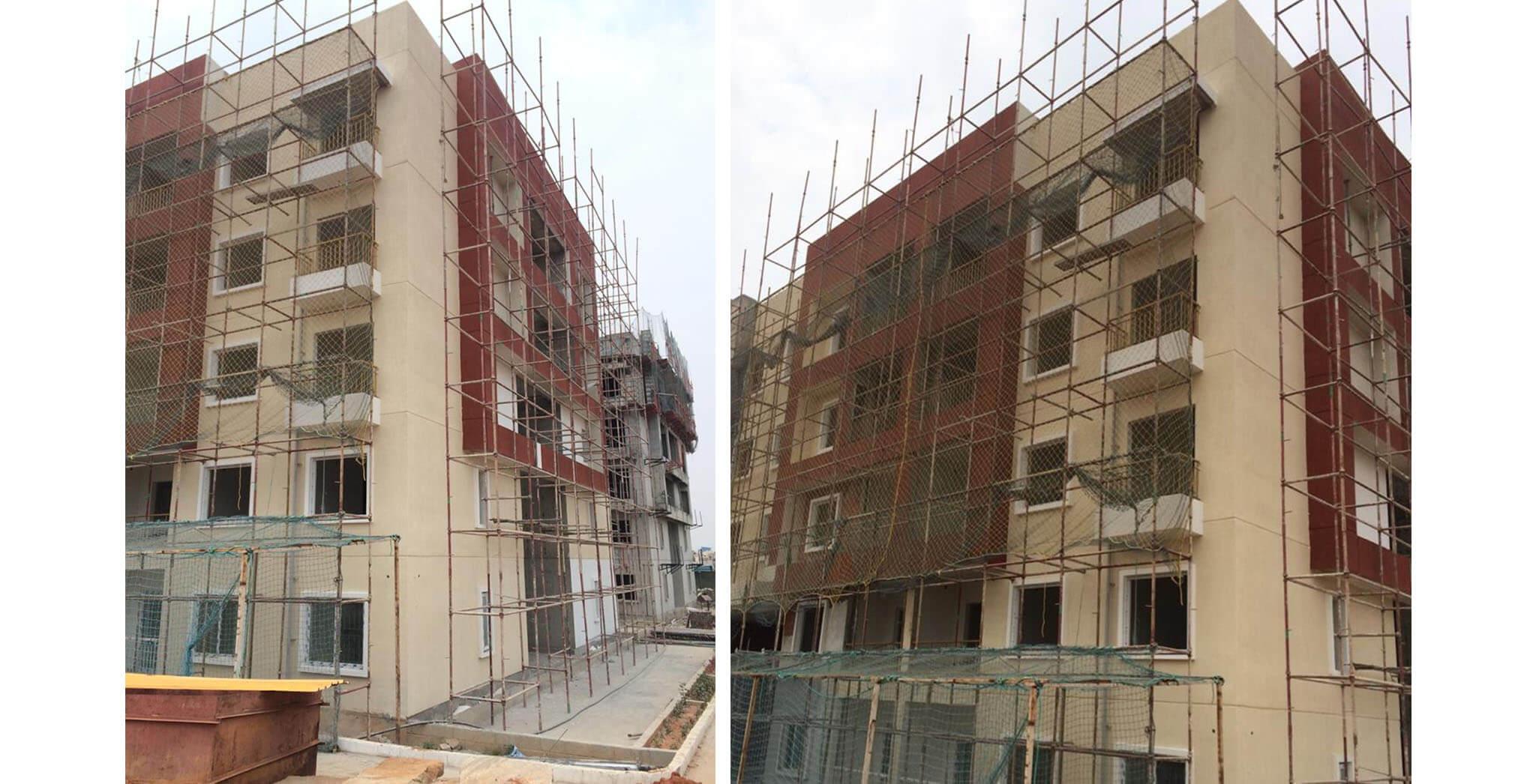 Feb 2020 - Q-Block: Finishes work-in-progress