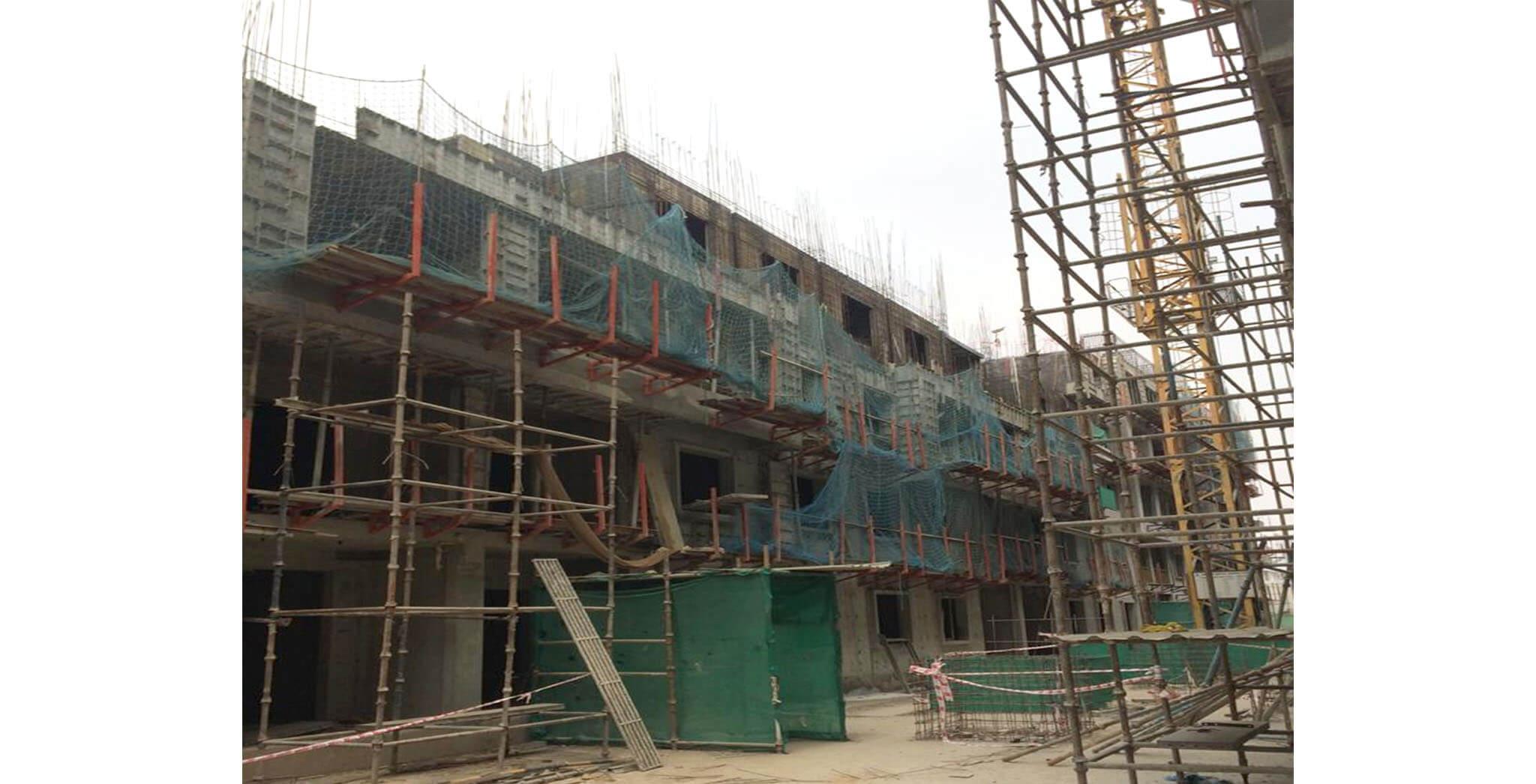 Feb 2020 - N-Block: Fourth floor slab work-in-progress