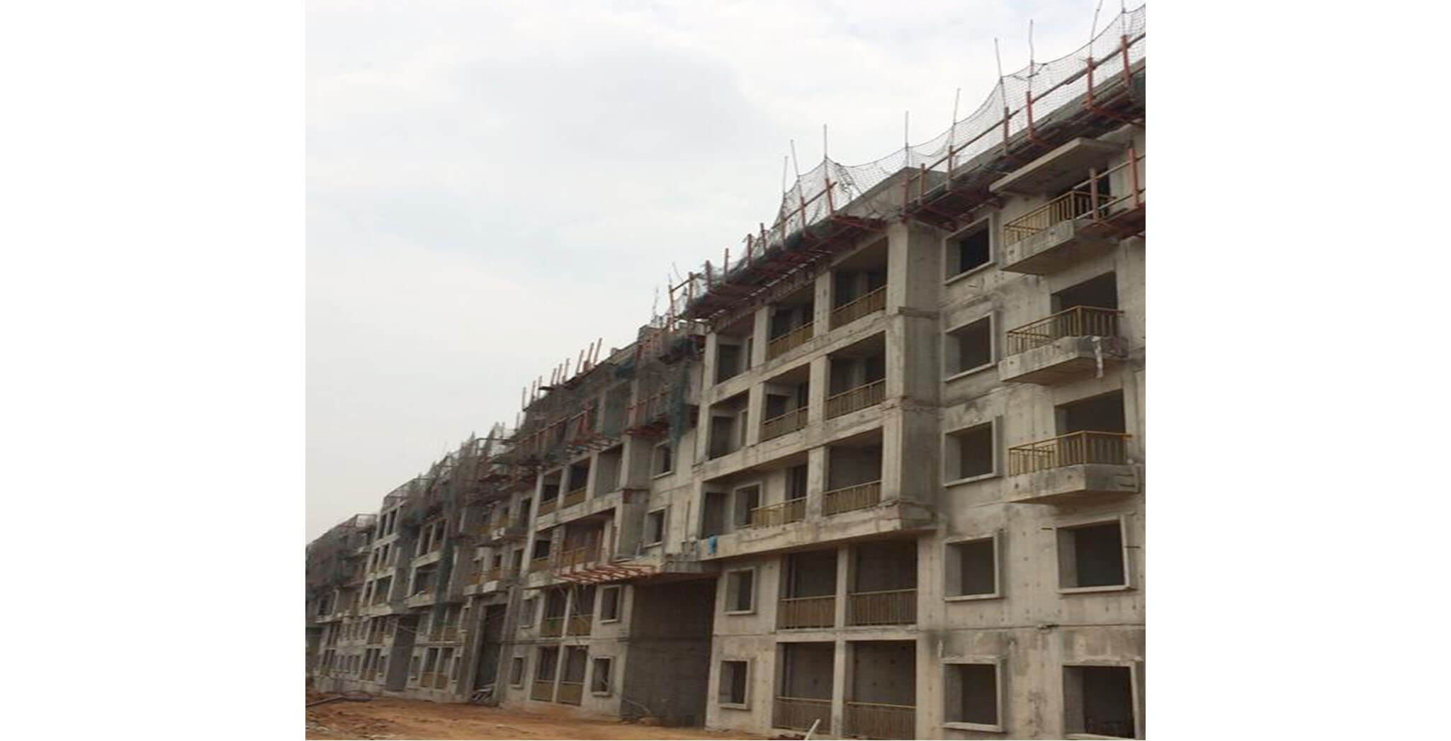Feb 2020 - S-Block: Above terrace work-in-progress