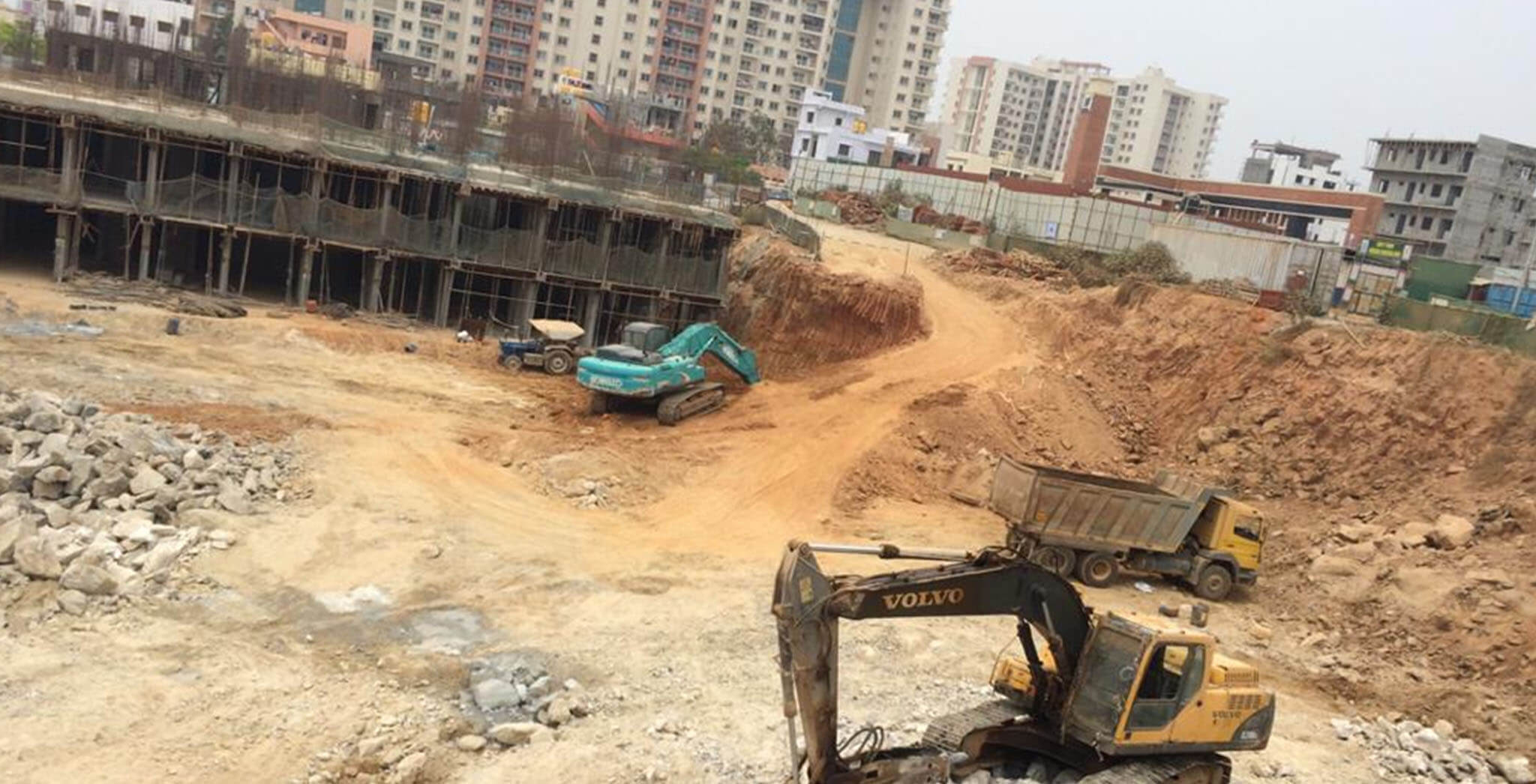 Feb 2020 - C & H Blocks: Excavation work-in-progress