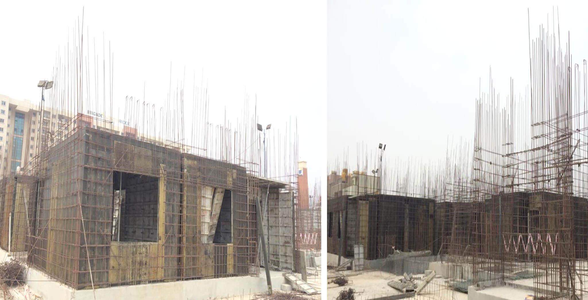 Feb 2020 - A Block: First floor work-in-progress