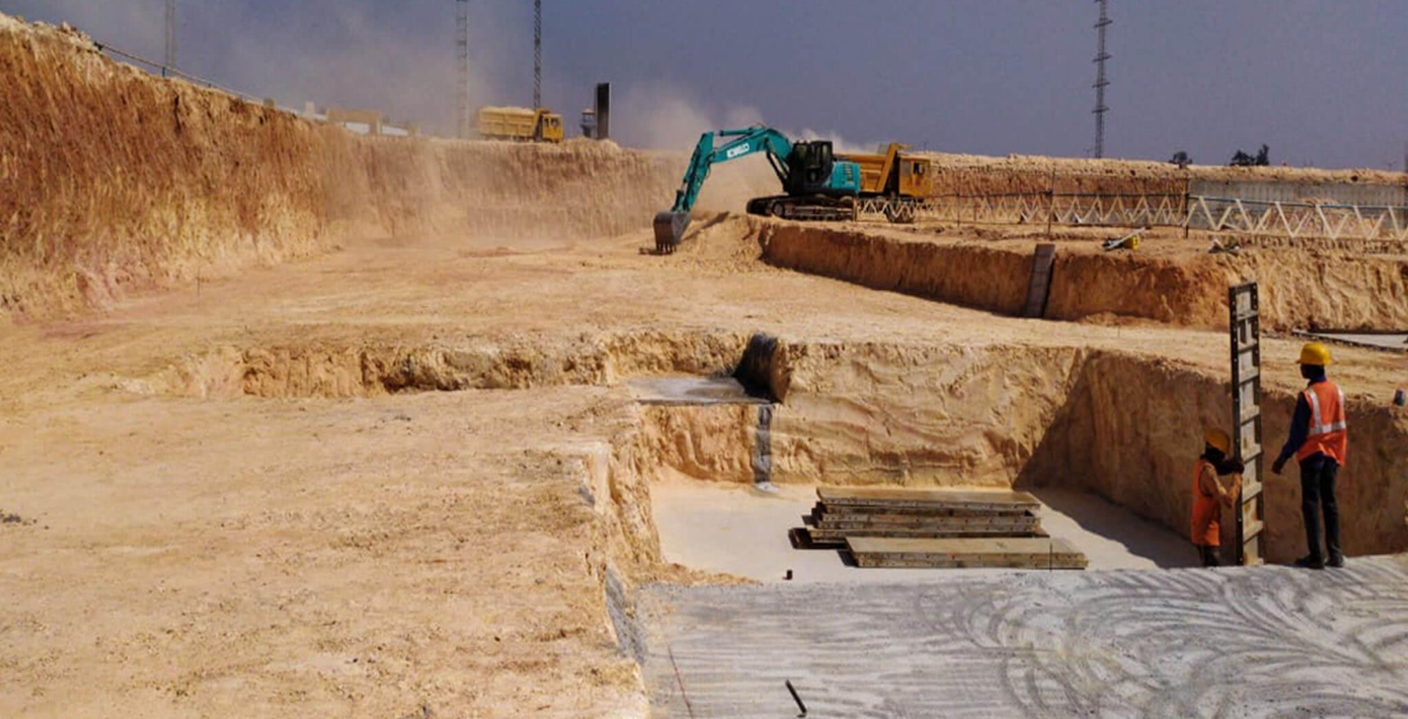 Feb 2020 - Helio Block: Wing C—Excavation in progress