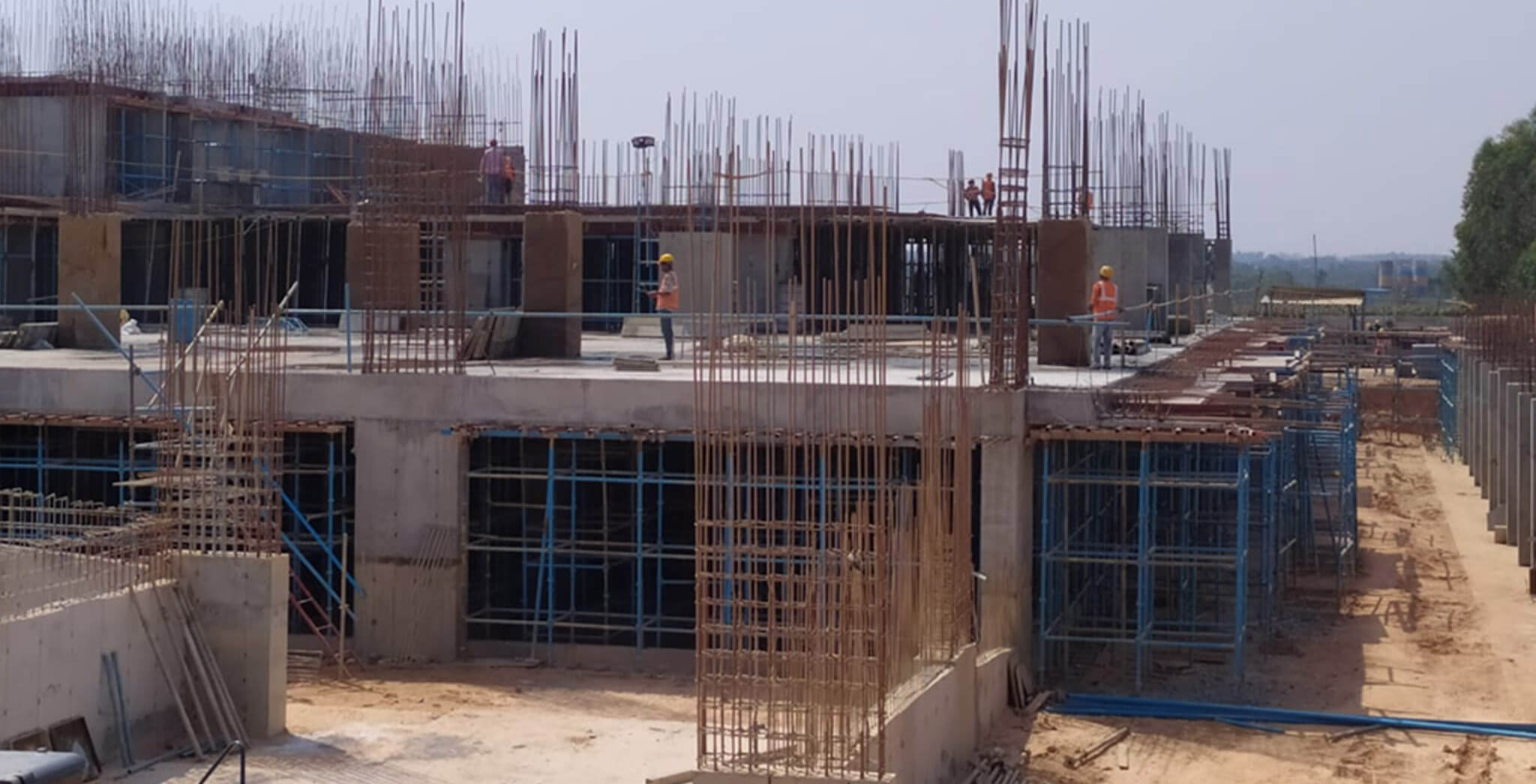 Apr 2020 - Gallium Block: MLCP 01—Ground floor & columns