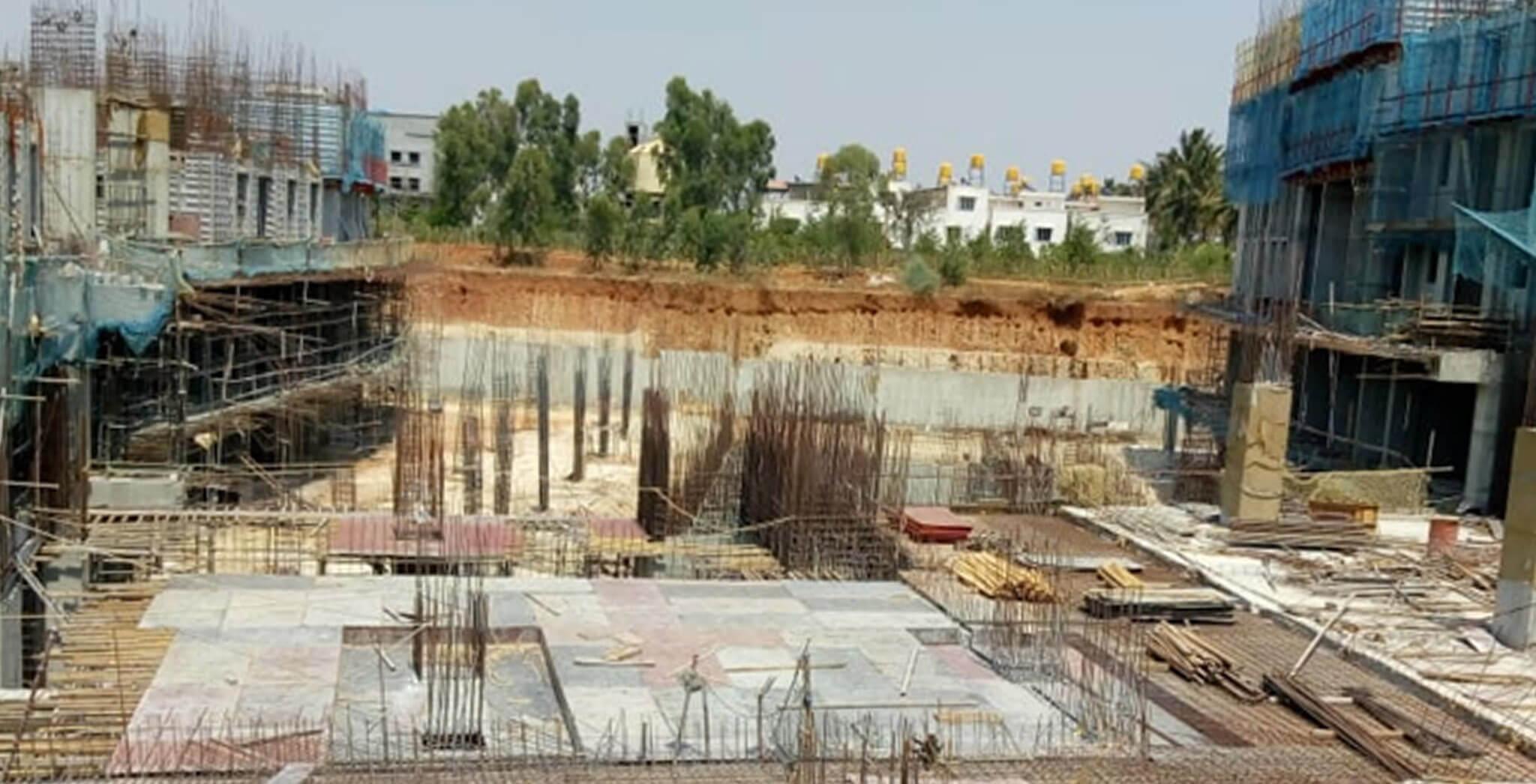 Mar 2020 - Eden—Tower B: Upper basement slab work-in-progress