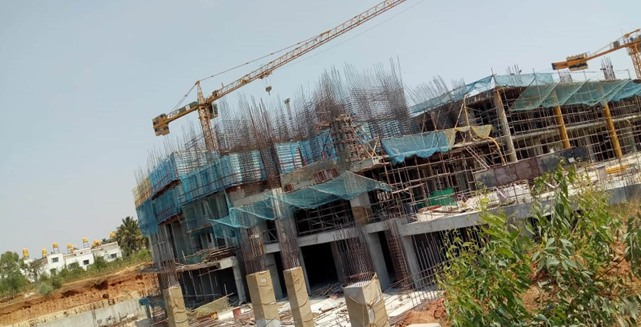 Mar 2020 - Eden—Tower C: Third floor slab completed