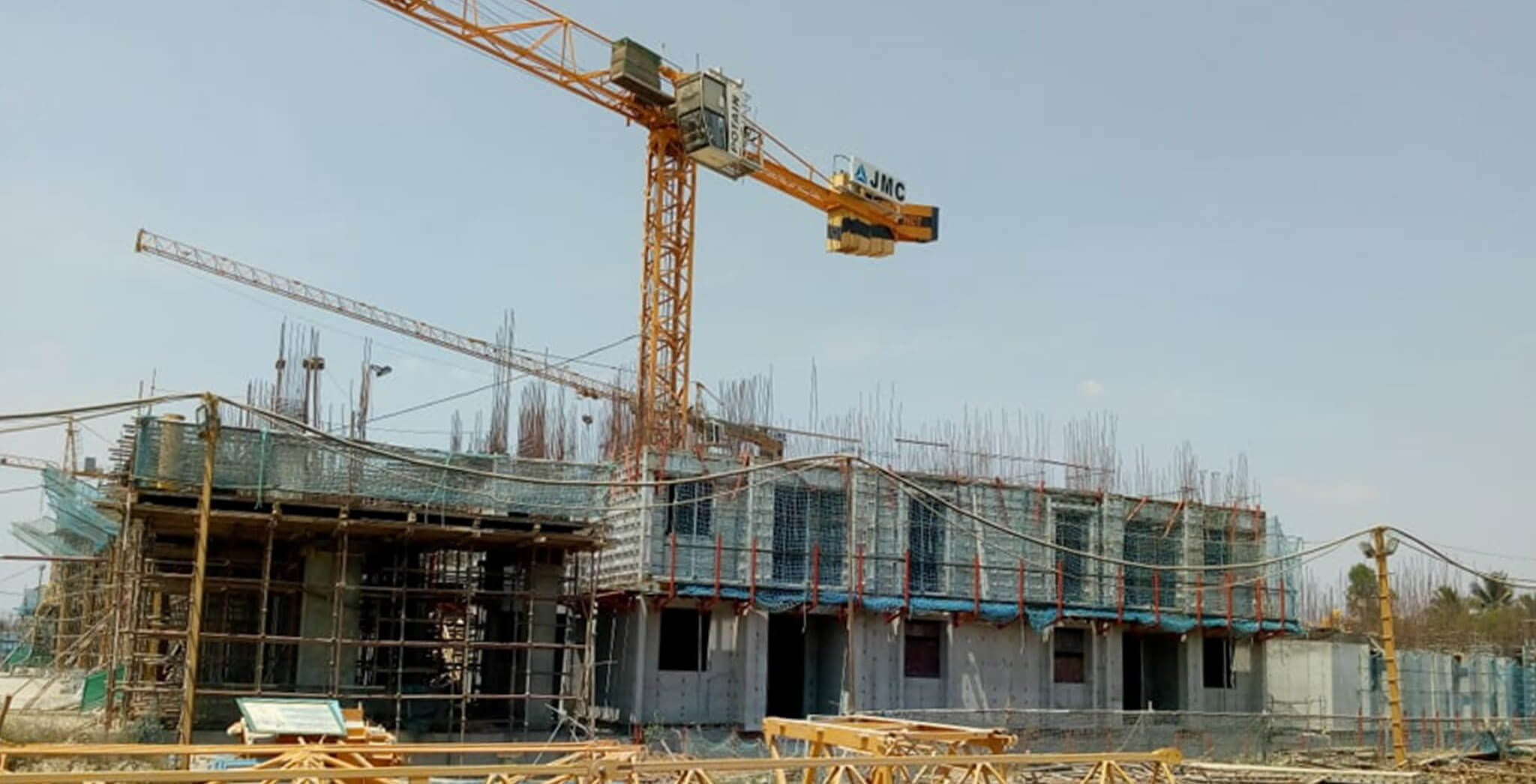 Mar 2020 - Eden—Tower E: First floor slab 50% completed; Second floor slab work-in-progress