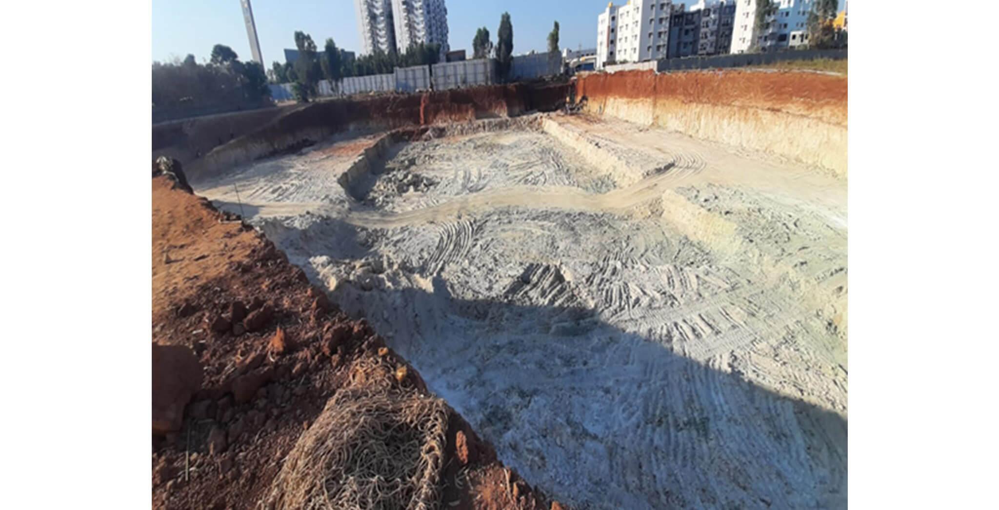 Mar 2020 - Arcadia: Excavation completed