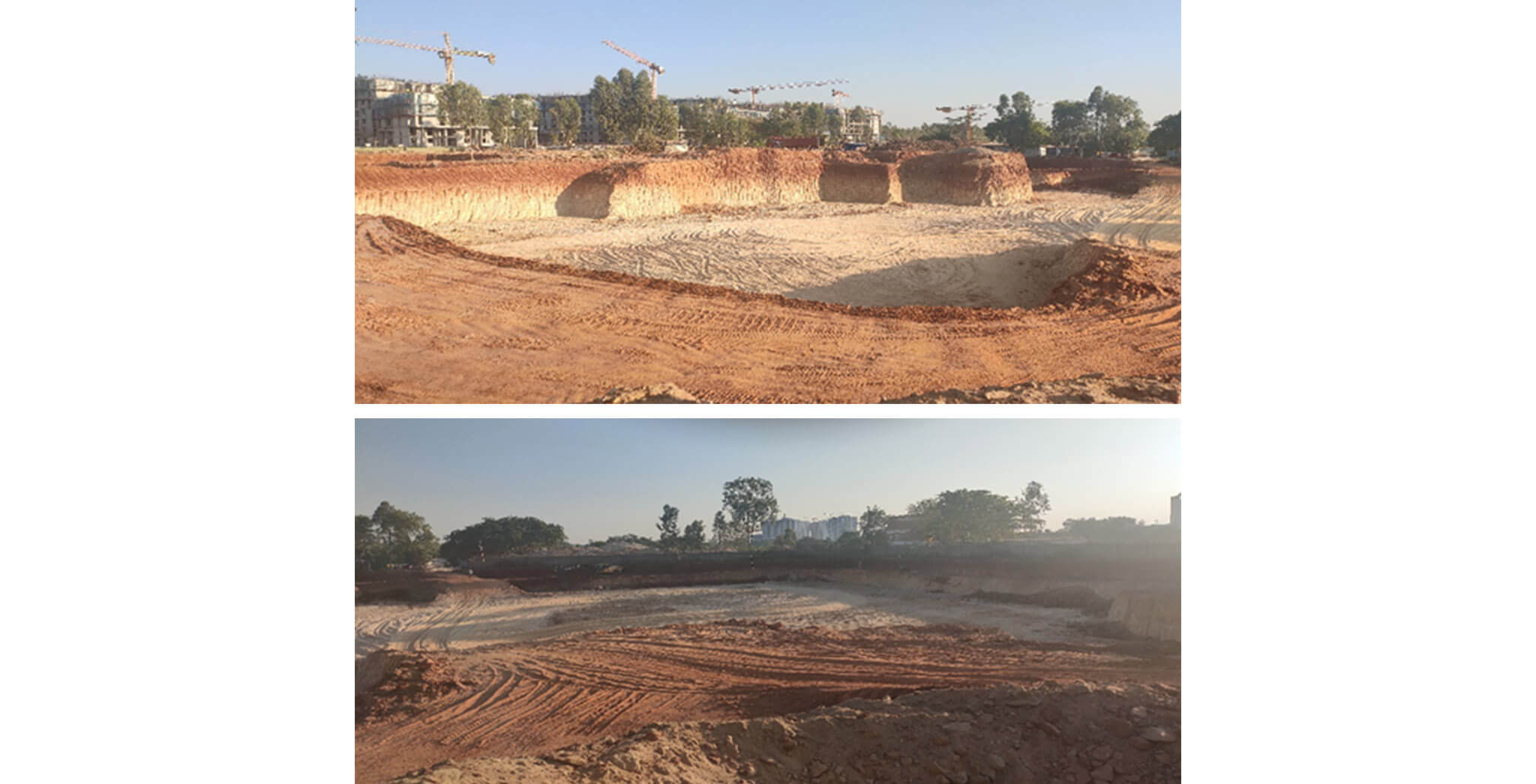Mar 2020 - Tranquil: Excavation in progress