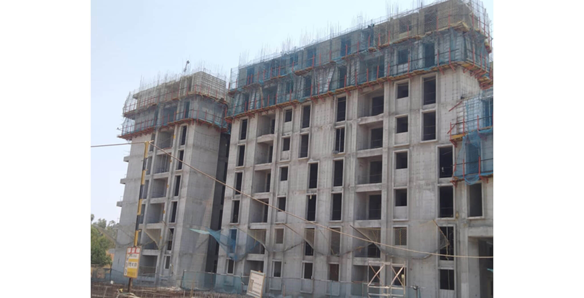 Mar 2020 - Serene—Tower A: 8th floor slab work-in-progress