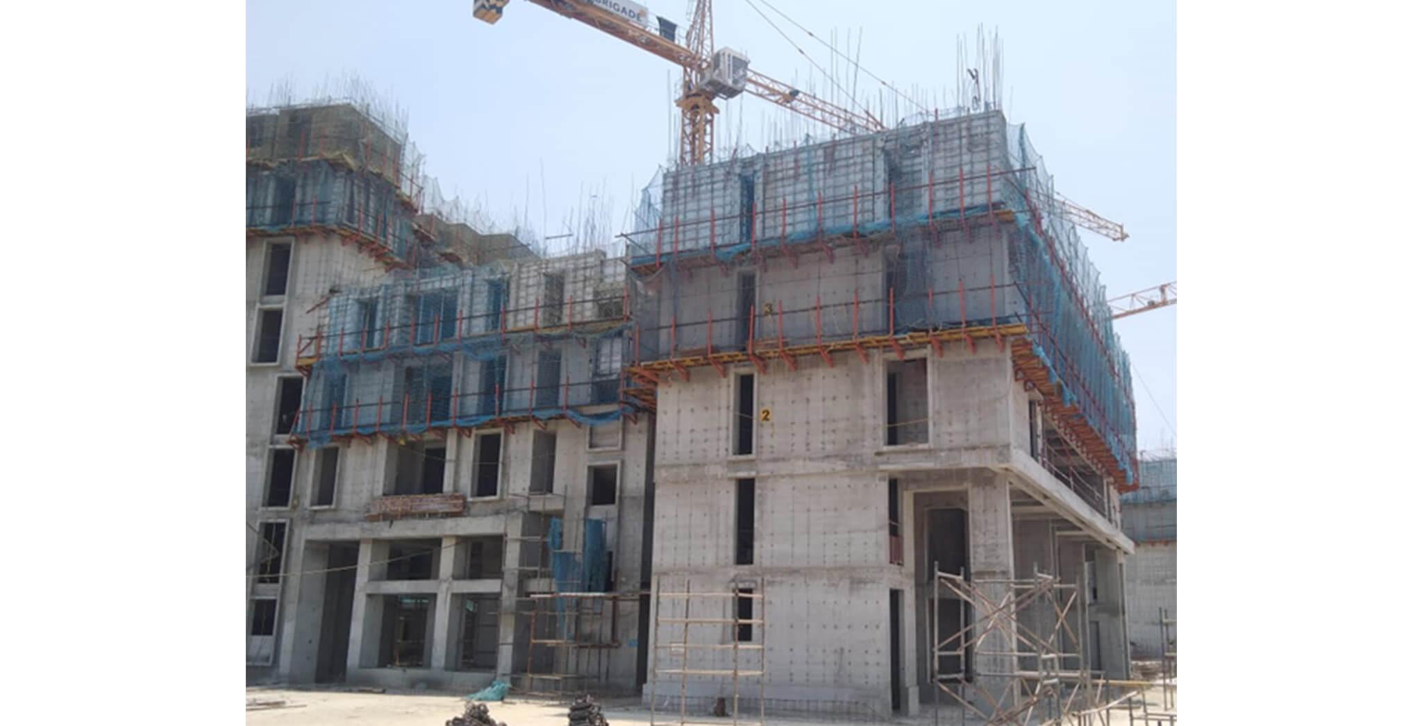 Mar 2020 - Serene—Tower B: 4th floor slab completed & 5th floor slab work-in-progress