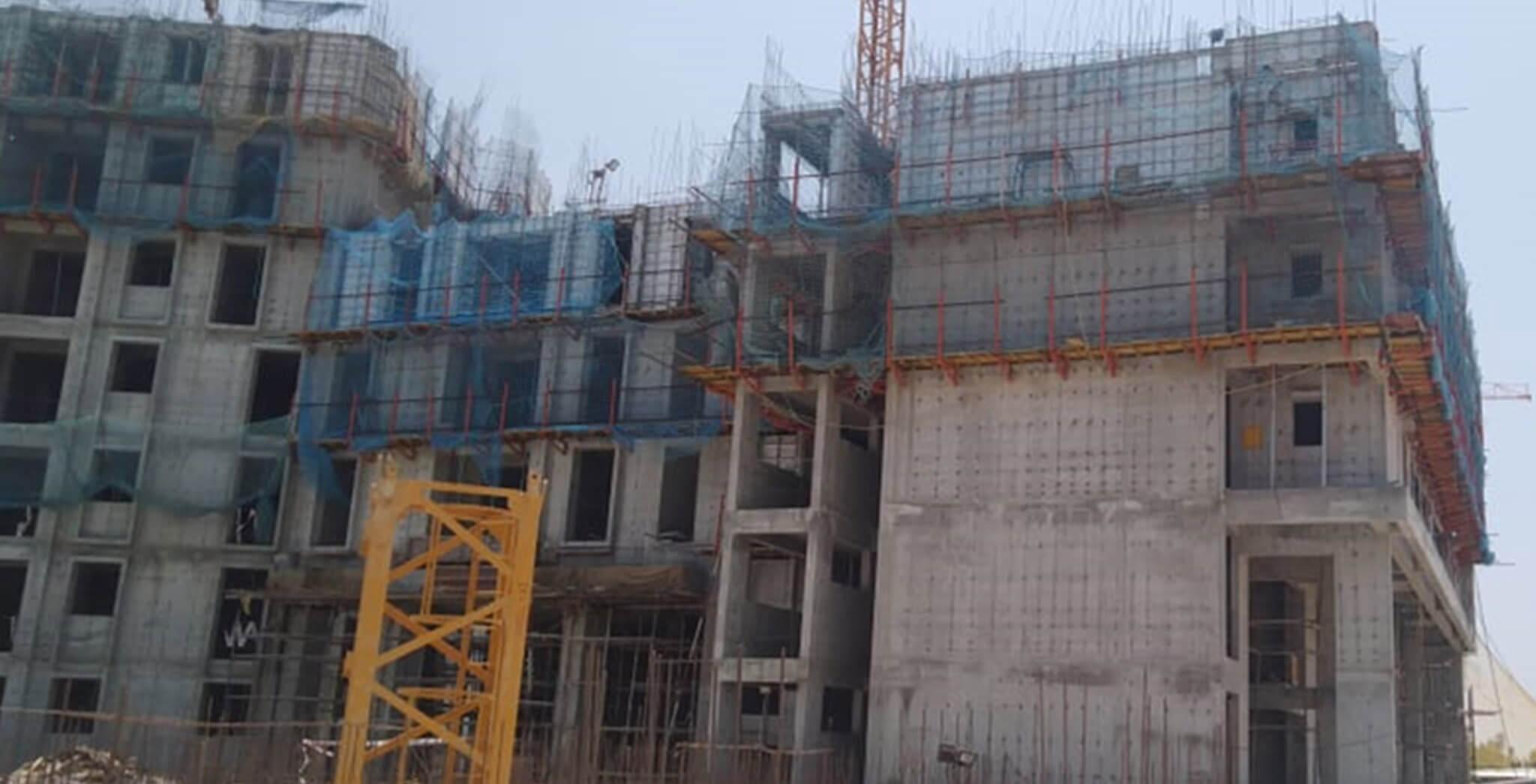 Mar 2020 - Serene—Tower C: 4th floor slab completed & 5th floor slab work-in-progress