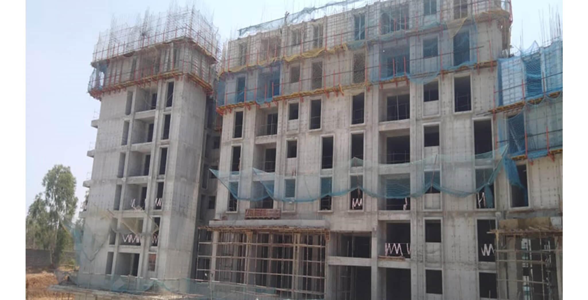 Mar 2020 - Serene—Tower D: 8th floor Slab work-in-progress