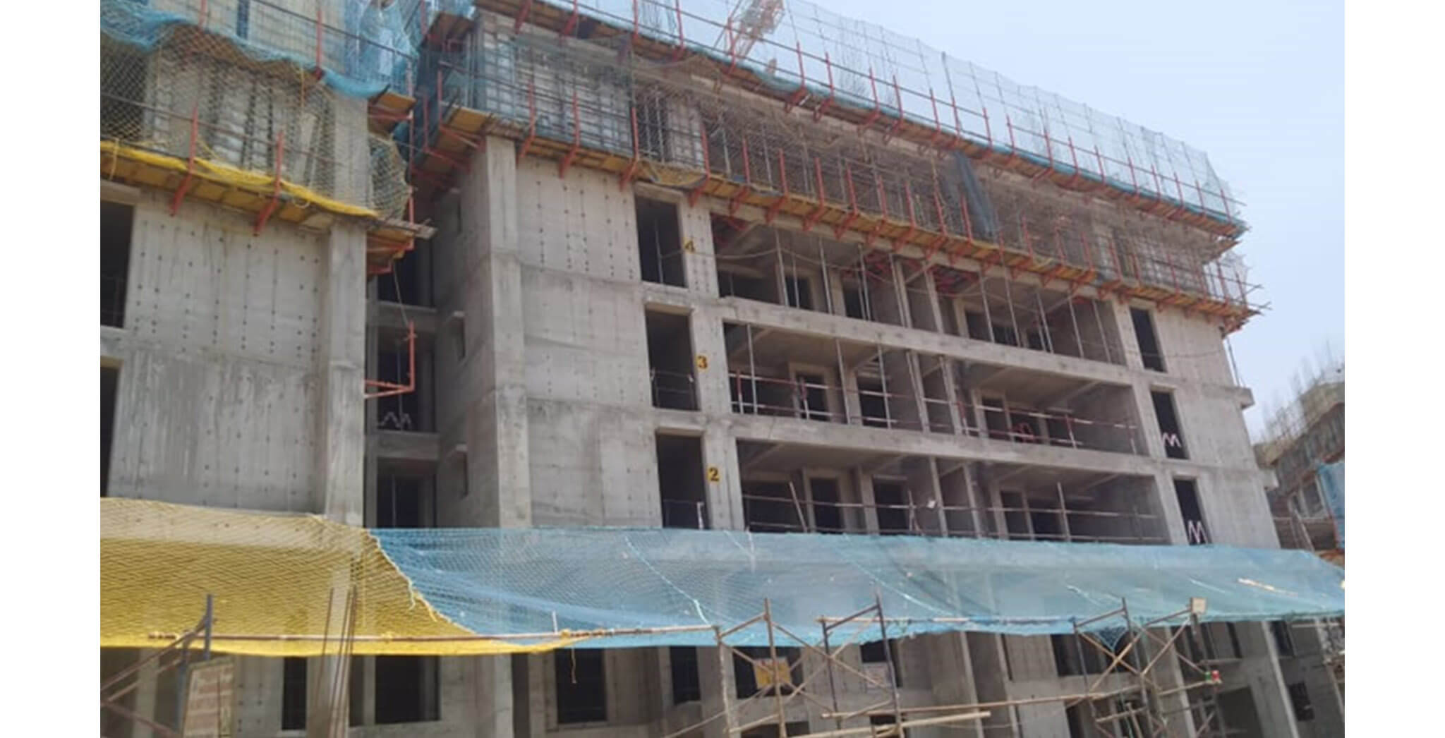 Mar 2020 - Serene—Tower E: 6th floor slab works under progress