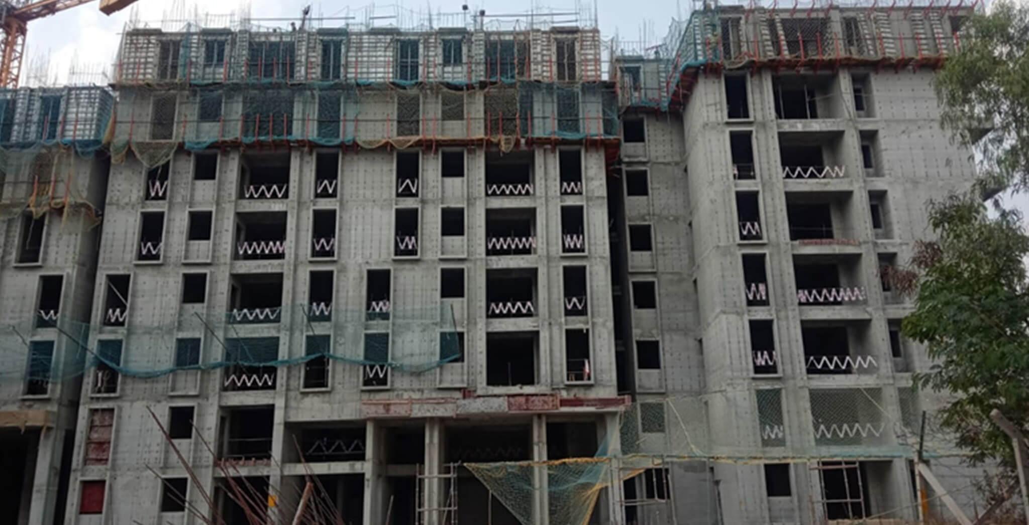 Mar 2020 - Serene—Tower F: 8th floor slab work-in-progress