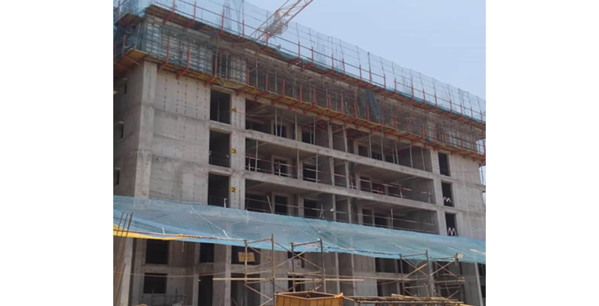 Mar 2020 - Serene—Tower G: 8th floor slab work-in-progress