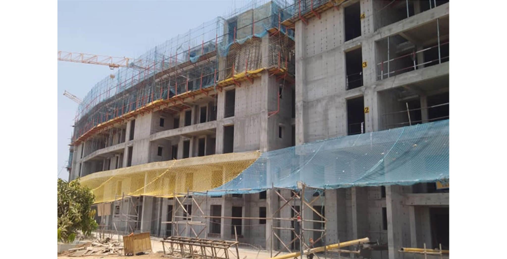 Mar 2020 - Serene—Towers C & E: 6th floor slab work-in-progress
