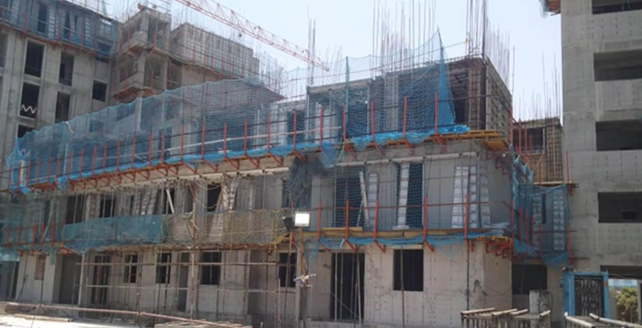 Mar 2020 - Serene—Towers G & E: 3rd floor slab work-in-progress