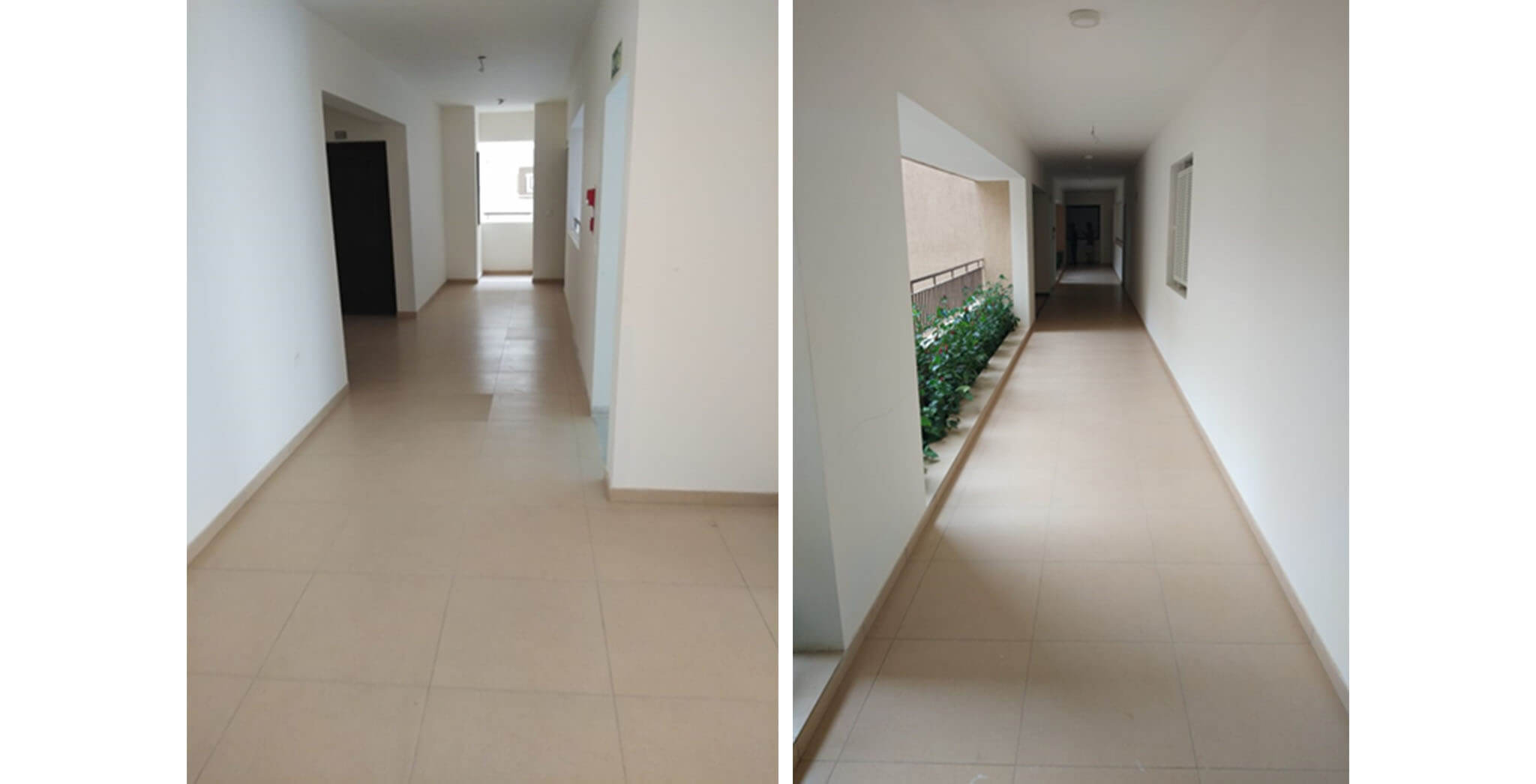 May 2020 - Deodar—A block: Corridor–Final coat painting completed