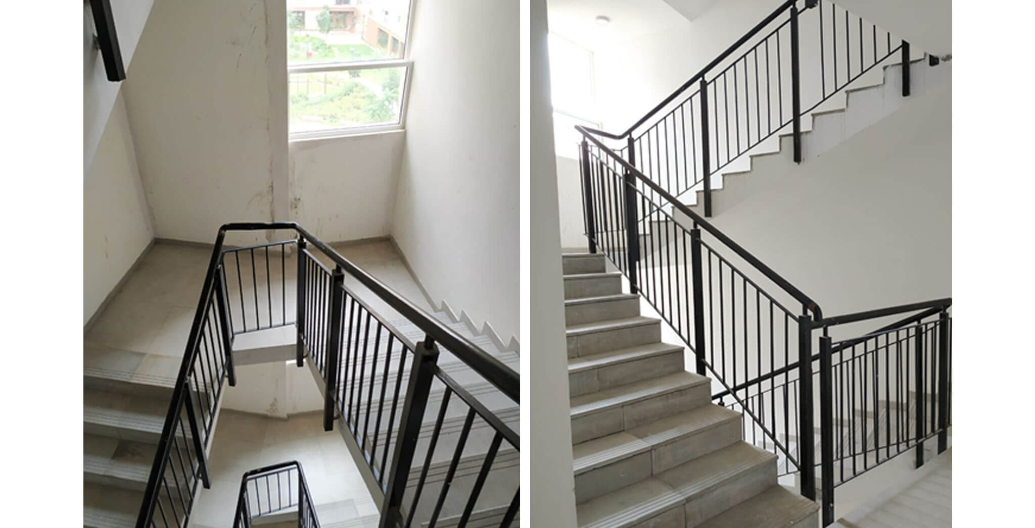 May 2020 - Deodar—F block: Staircase–Final coat painting in progress