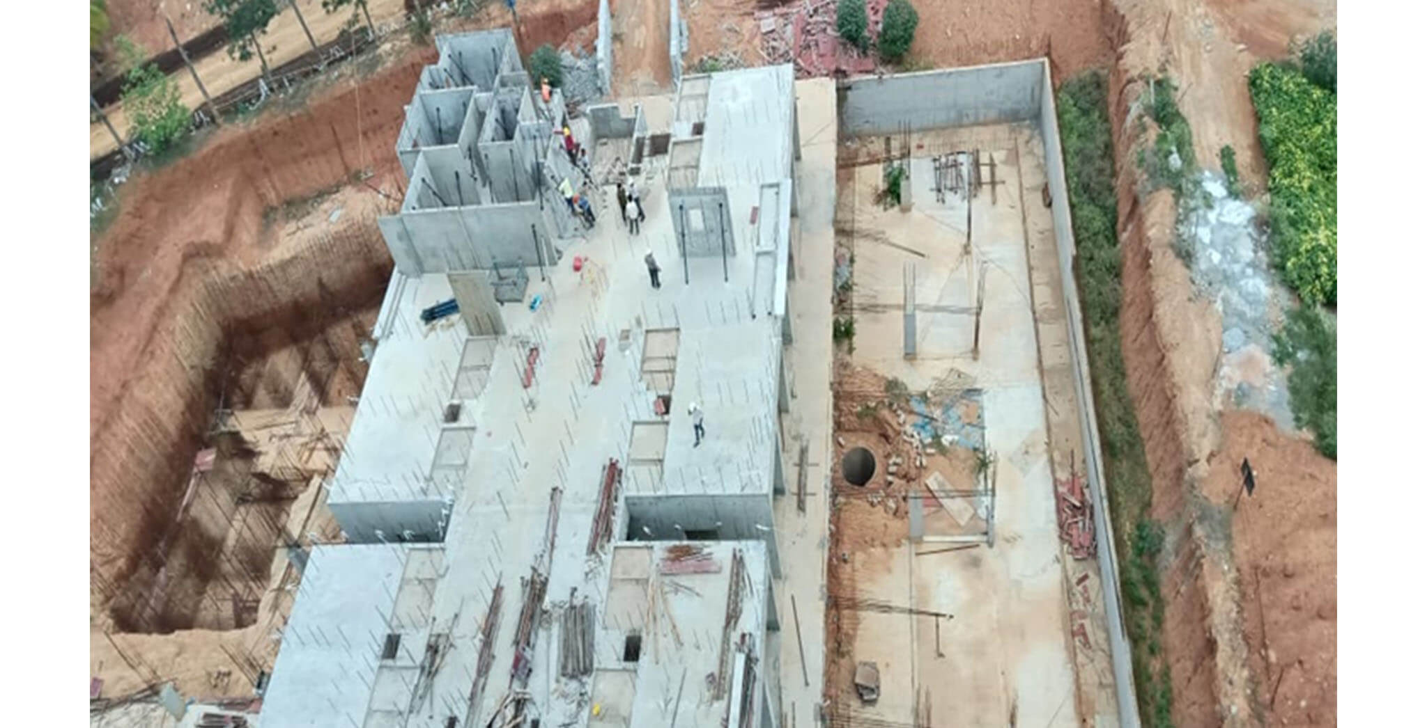 May 2020 - Tower C: Precast erection started