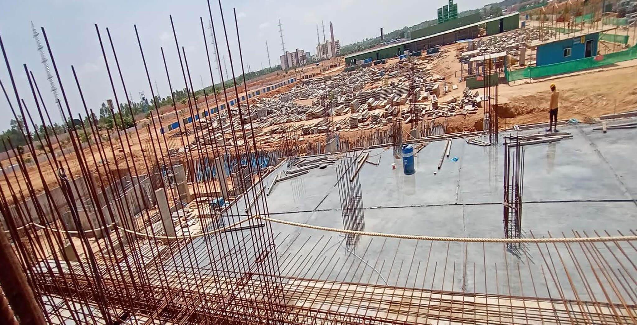 MLCP 02—Towards F-basement roof slab - Status Image 3
