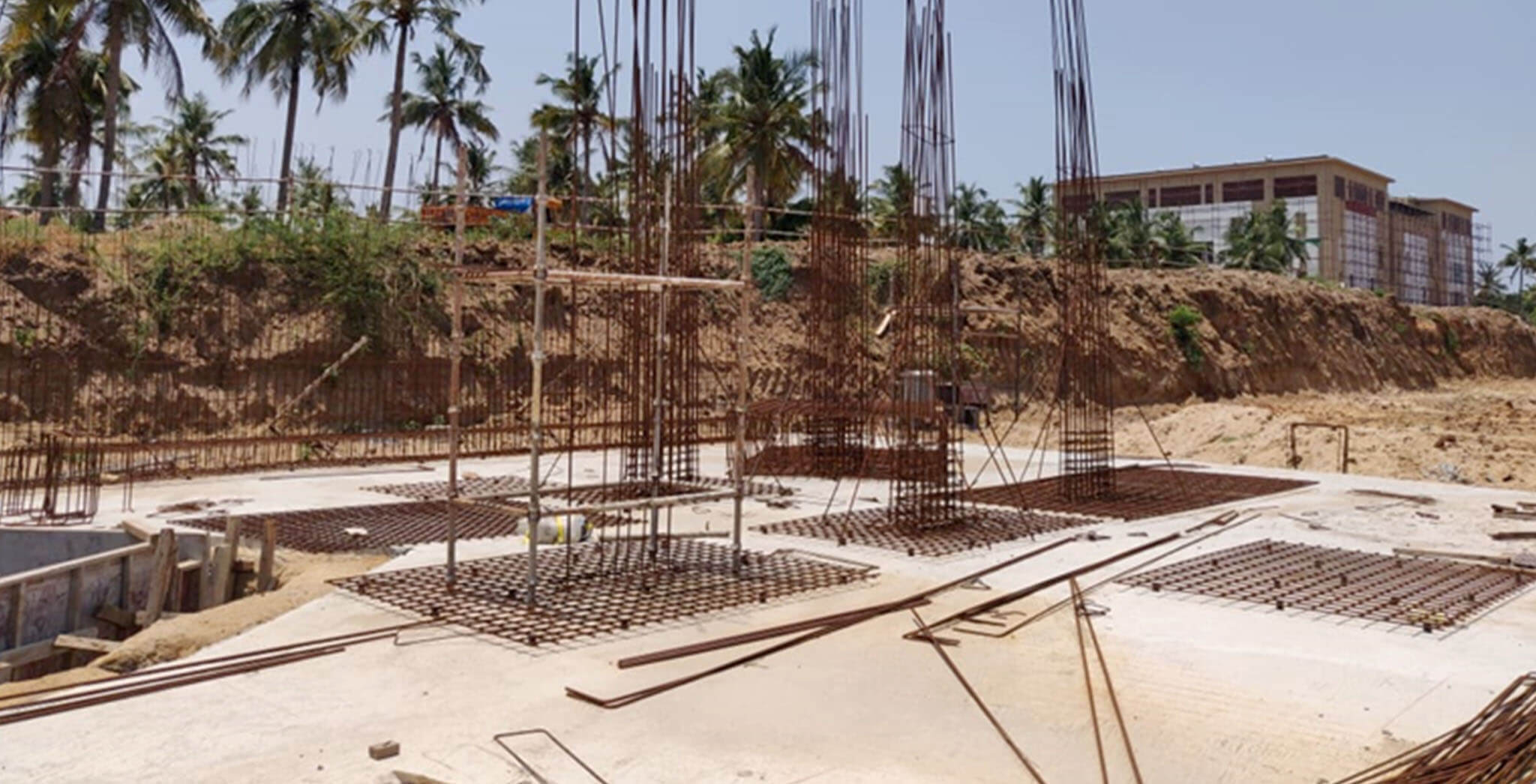 May 2020 - Foundation preparation for block H