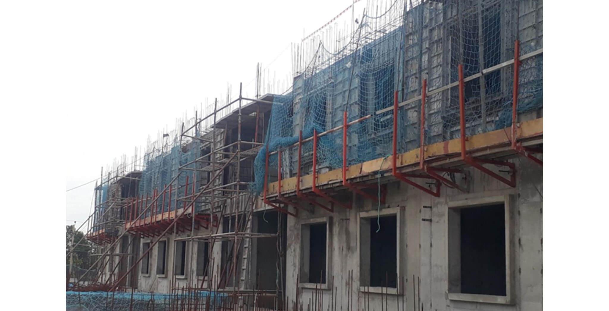 Jun 2020 - G Block: Second floor slab work-in-progress