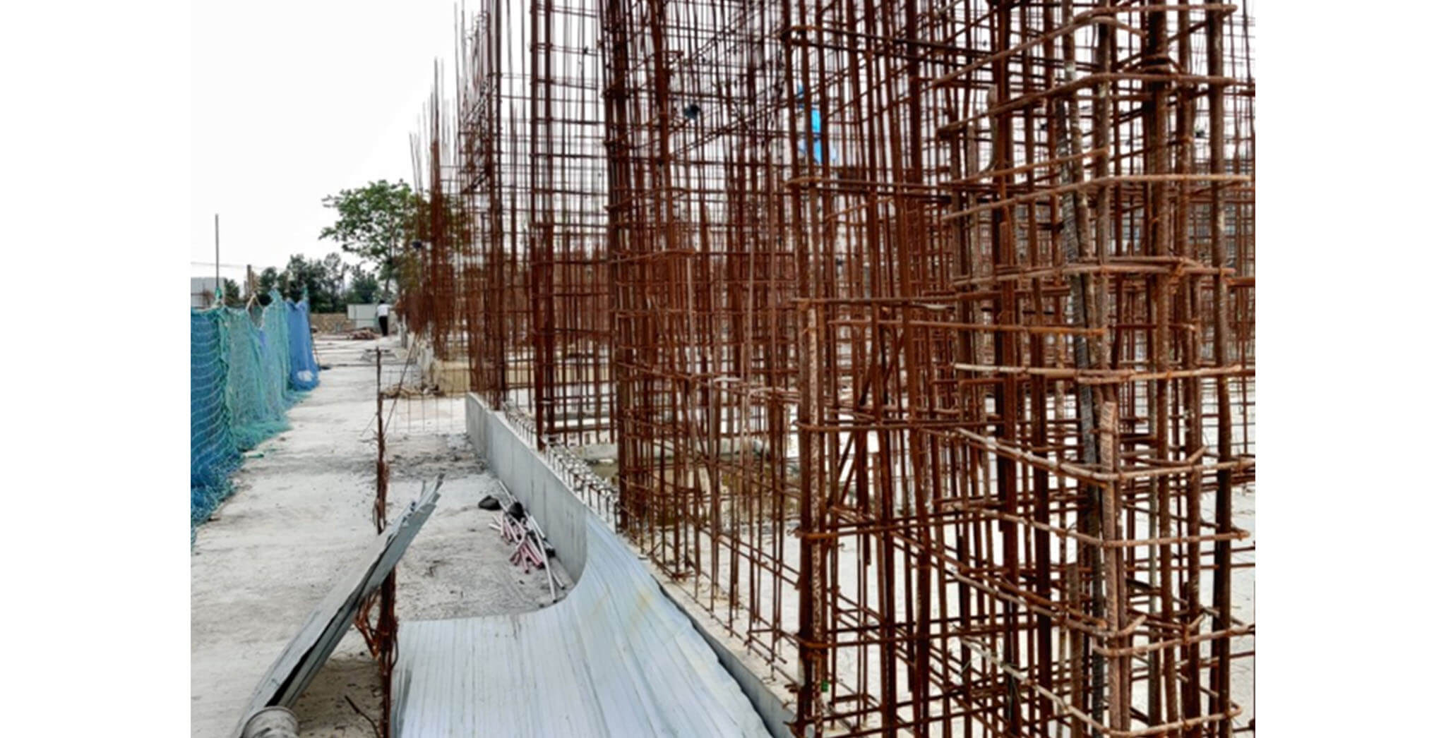 Jun 2020 - K Block: Ground floor slab completed
