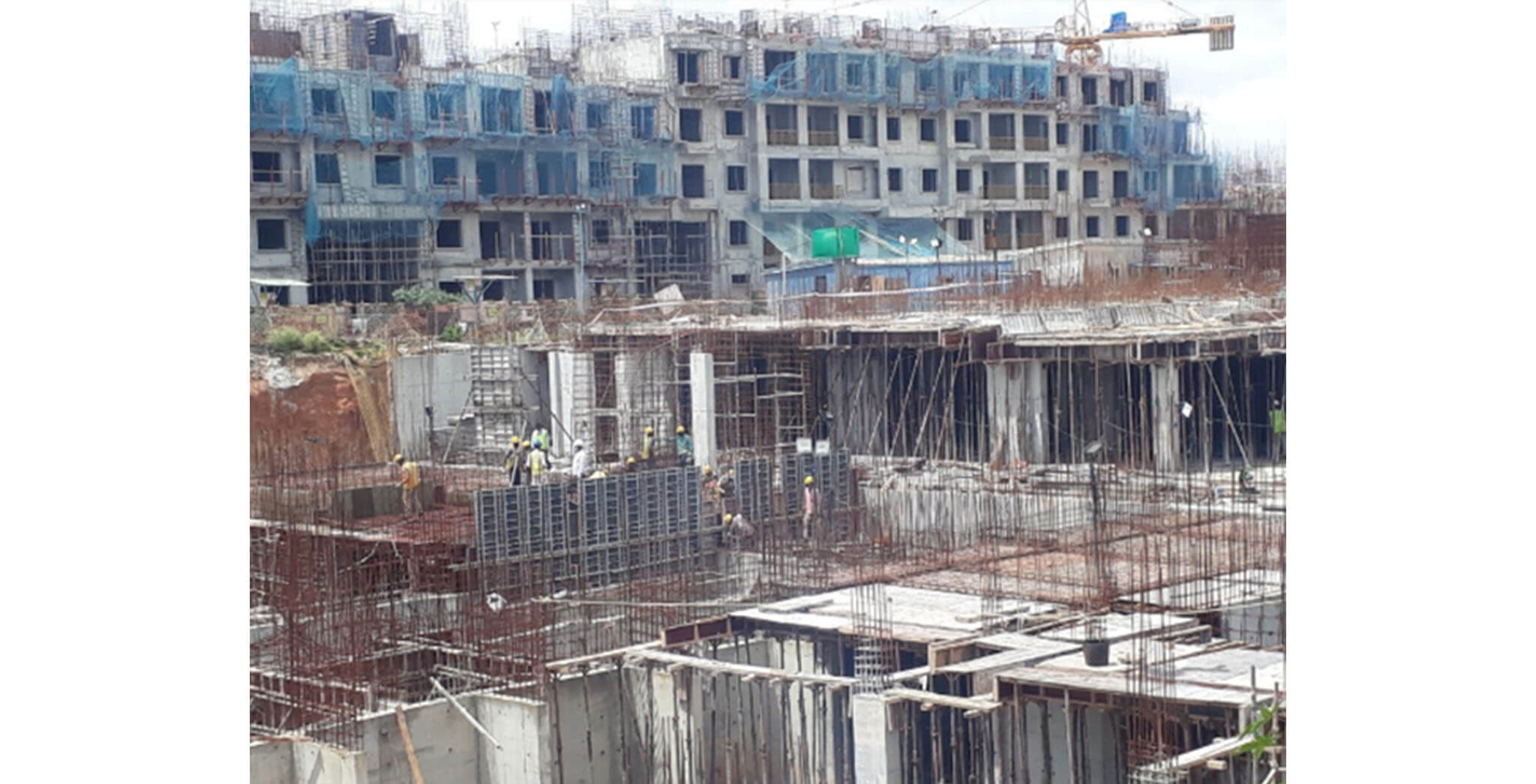 Jun 2020 - E Block: Basement work-in-progress