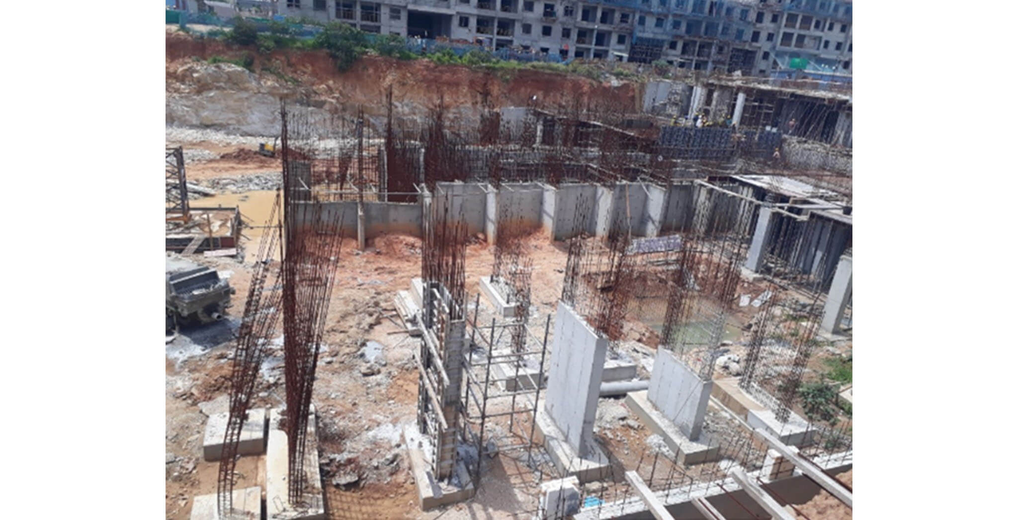 Jun 2020 - D & I Blocks: Basement work-in-progress