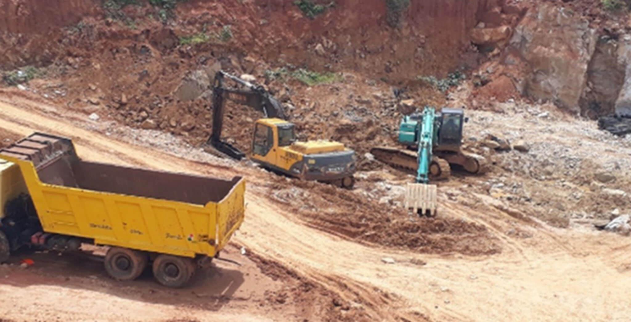 Jun 2020 - C & H Blocks: Excavation work-in-progress