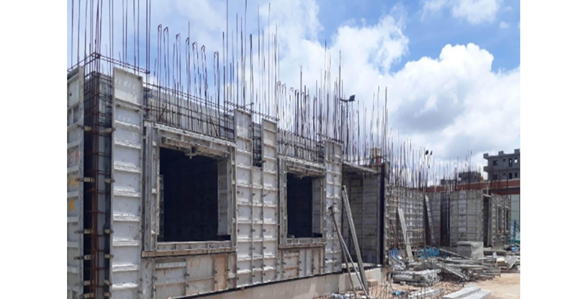 Jun 2020 - A Block: First floor work-in-progress