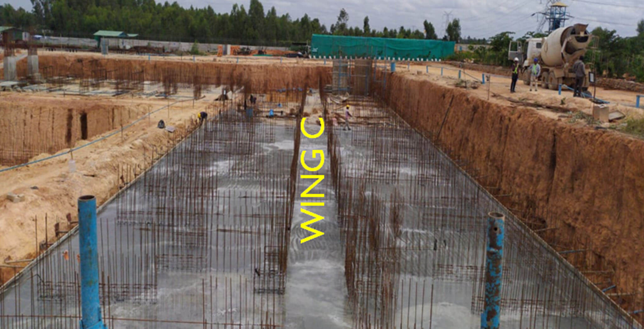 Wing C — Footing - Status Images 4