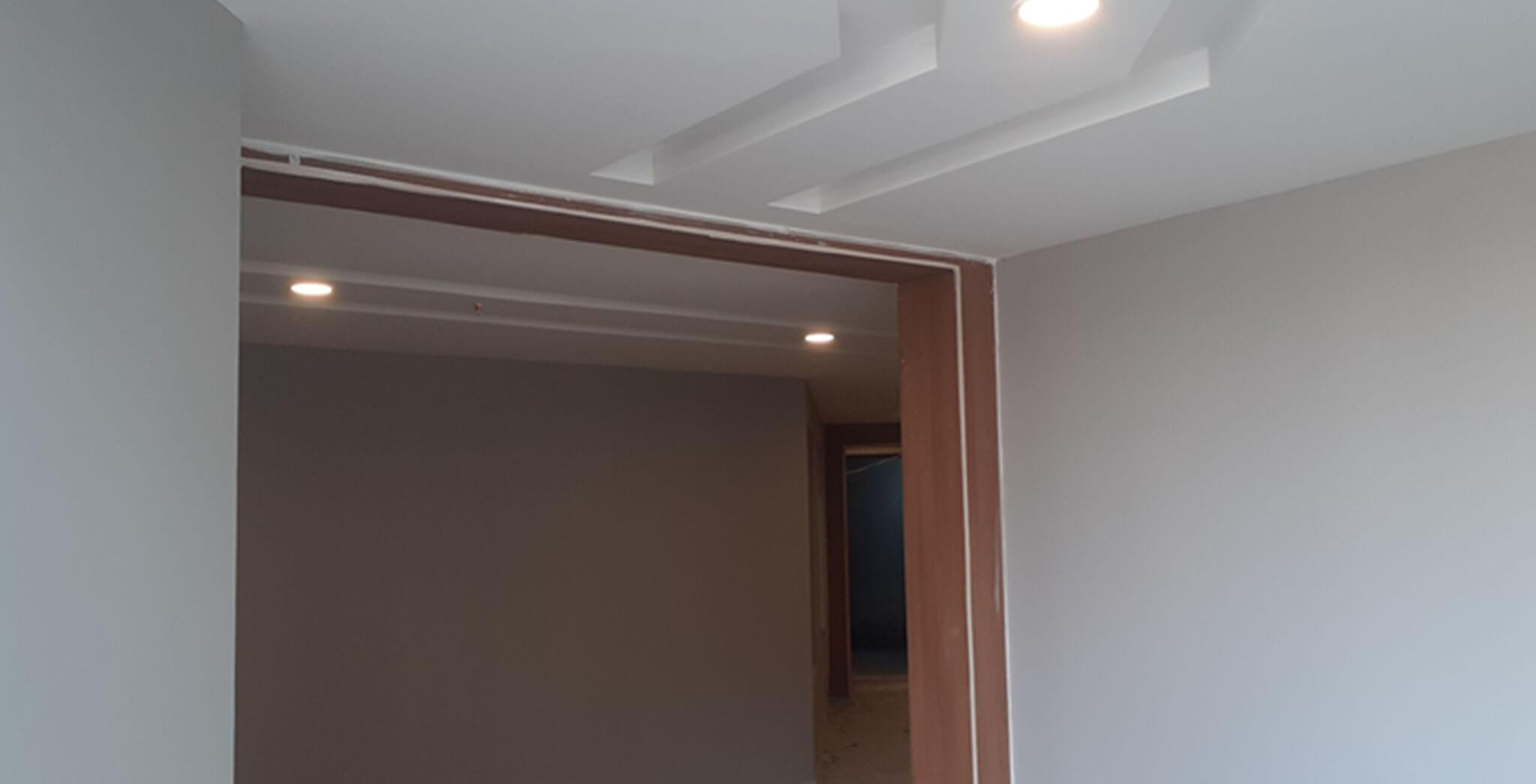 Jul 2020 - Towers B, C & D basement: Entrance lobby finishing work-in-progress