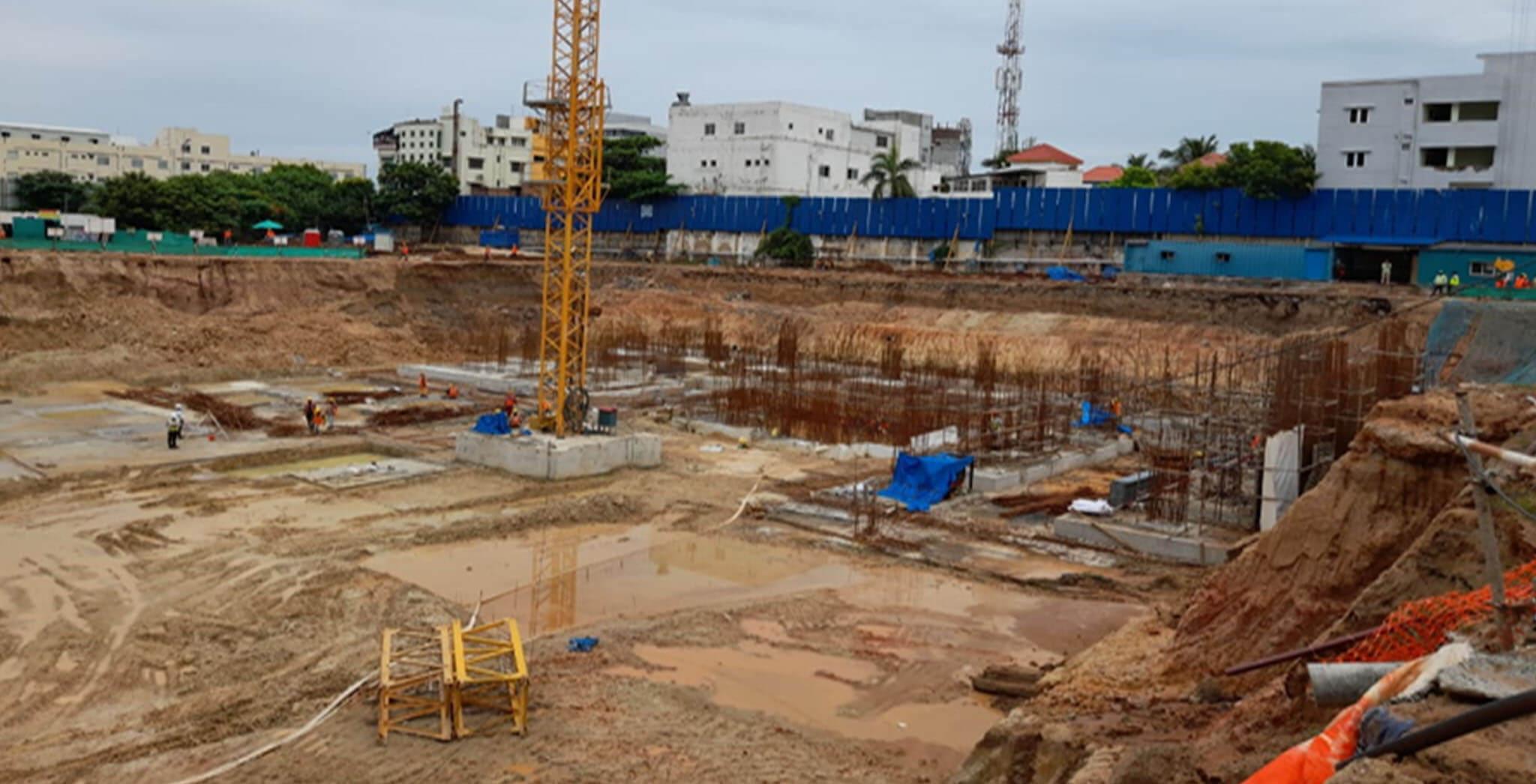 Jul 2020 - Tower A2 Excavation status